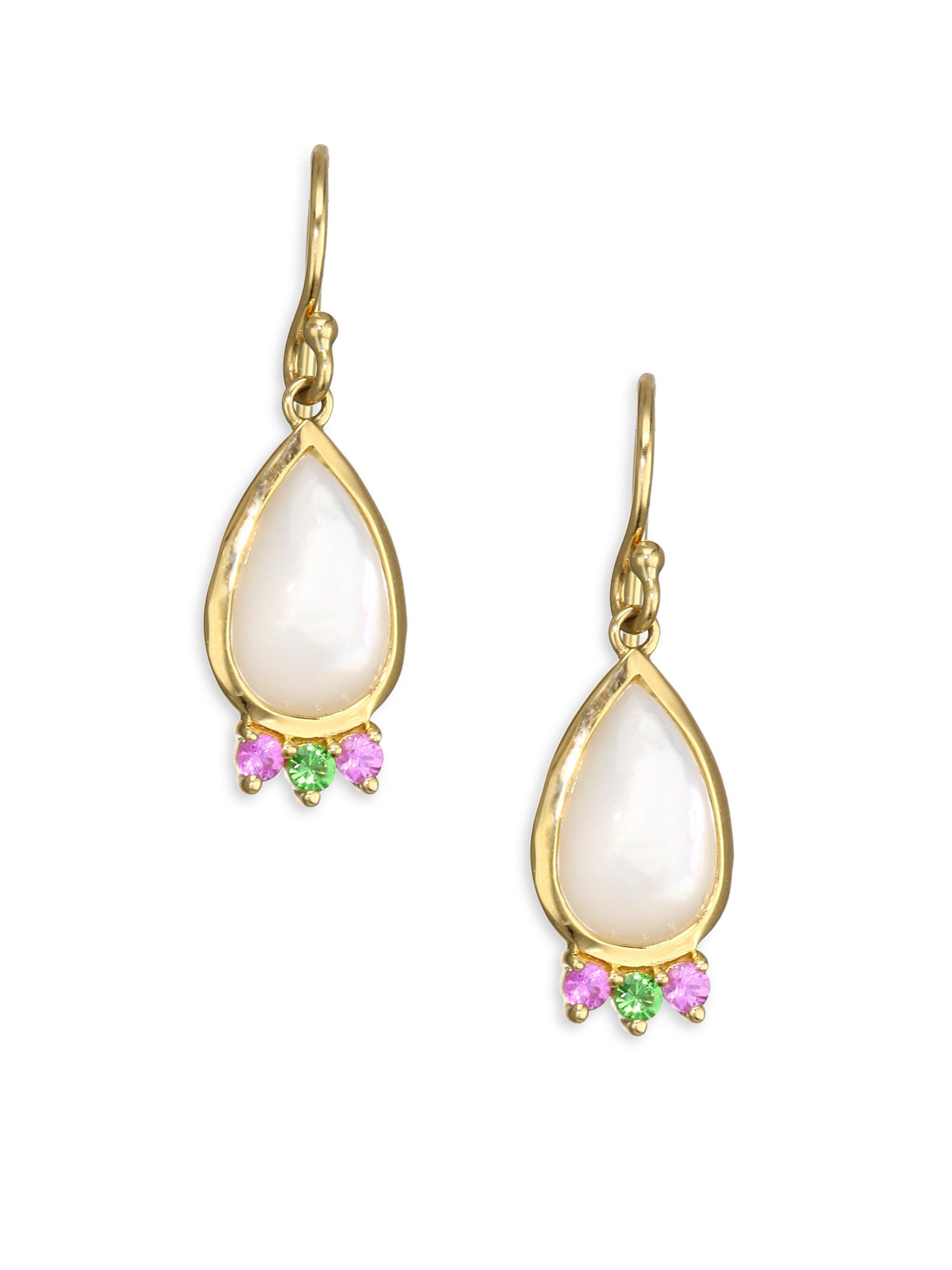 Prisma 18-karat Gold Multi-stone Earrings - one size Ippolita 3ETuP6xKle