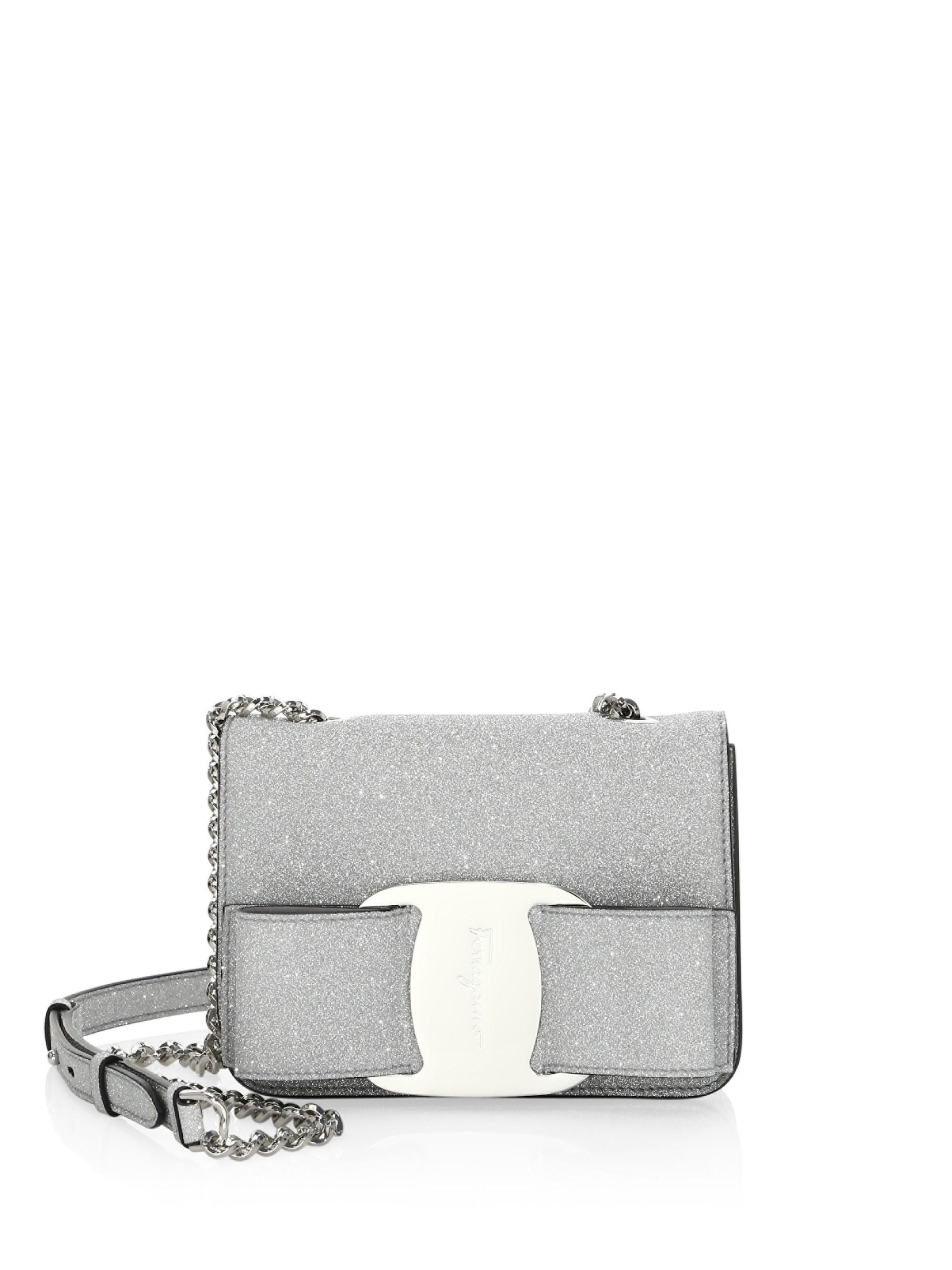 d78fd0cc3c0d Lyst - Ferragamo Vara Bow Bag in Metallic - Save 10%