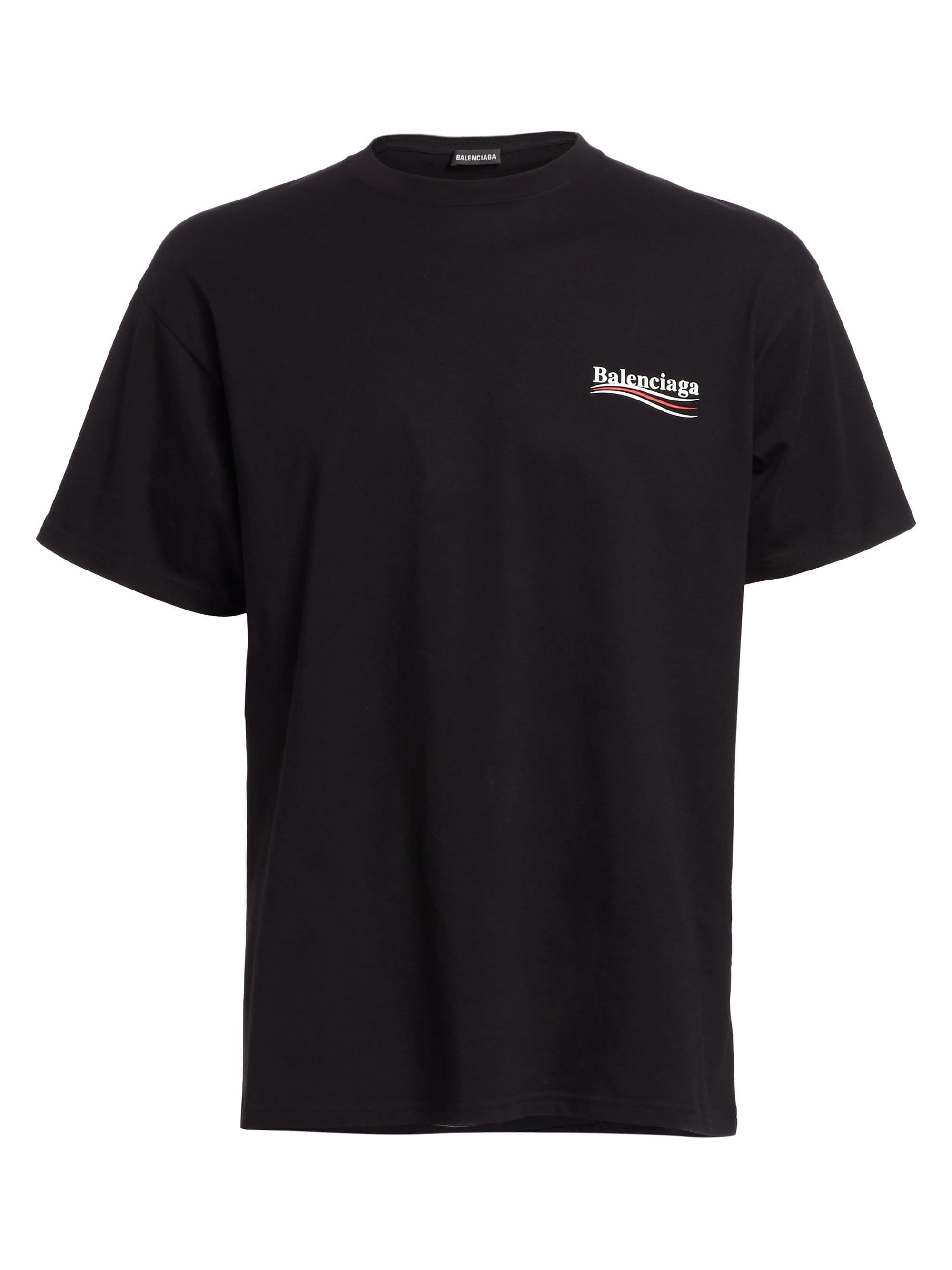 Balenciaga Oversized Logo-print Cotton