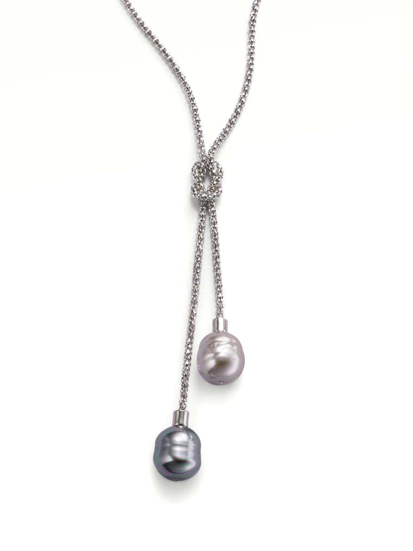Sterling Silver Adjustable Lariat Necklace