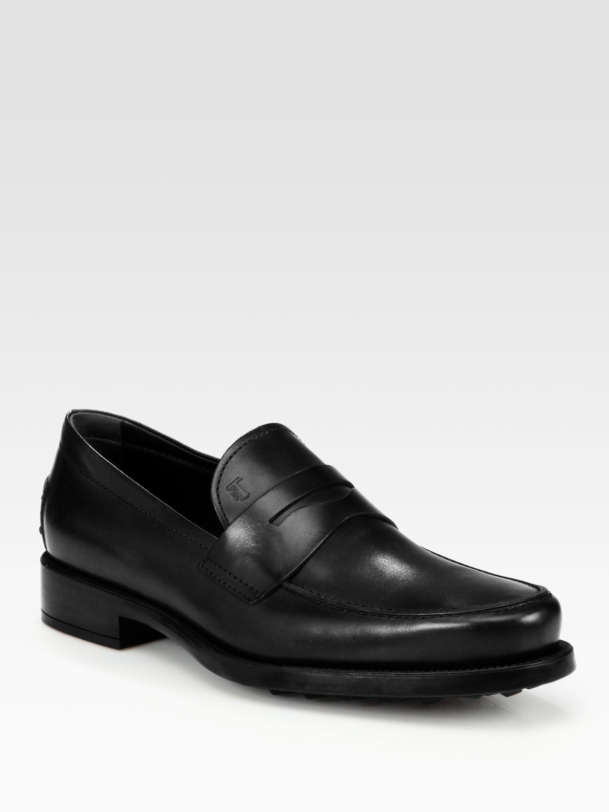 Gomma leather loafers Tod's Ph1jZbVxzZ