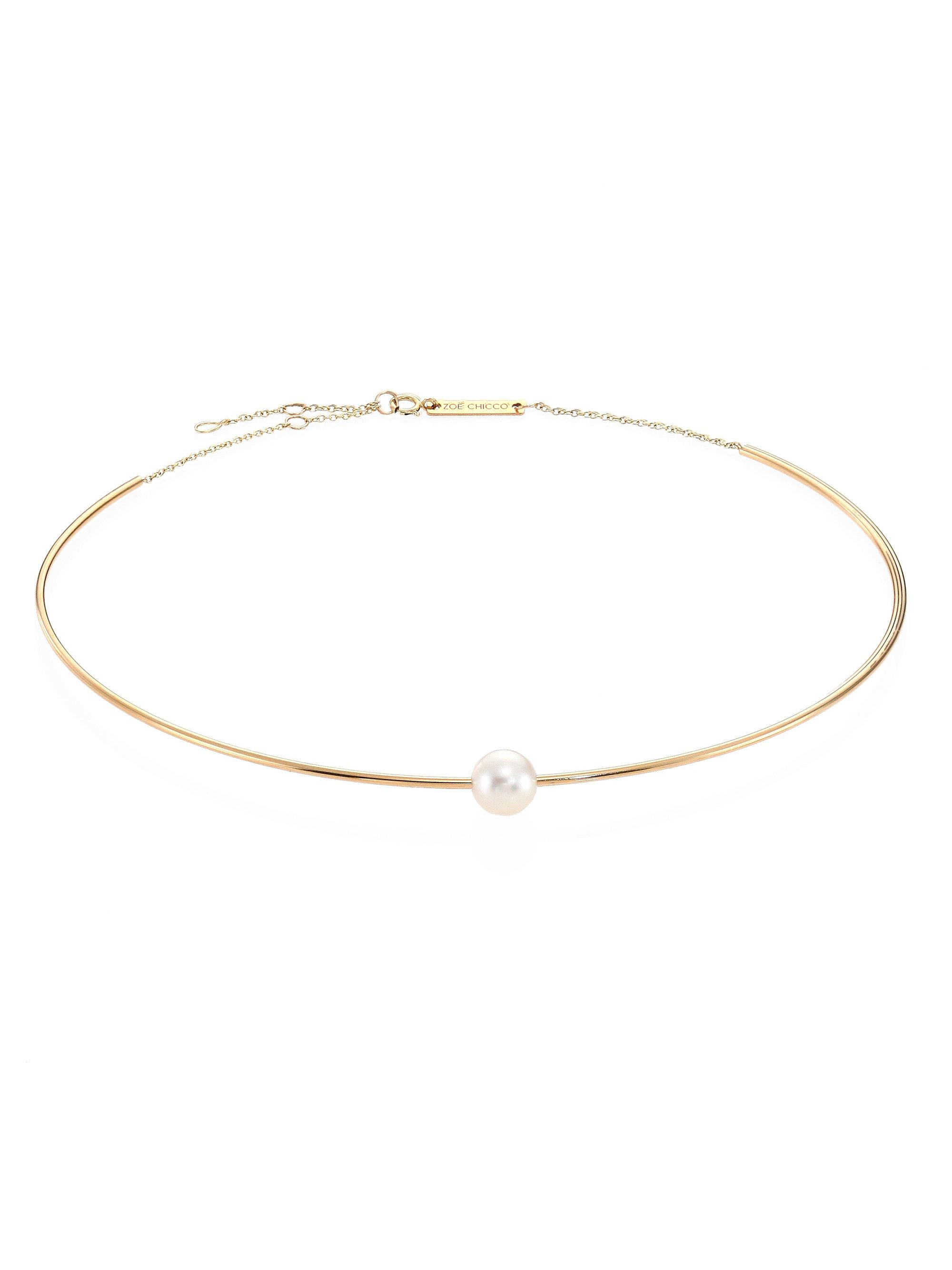 Edie Parker 14k Wire Choker Necklace 2ptoFeZ
