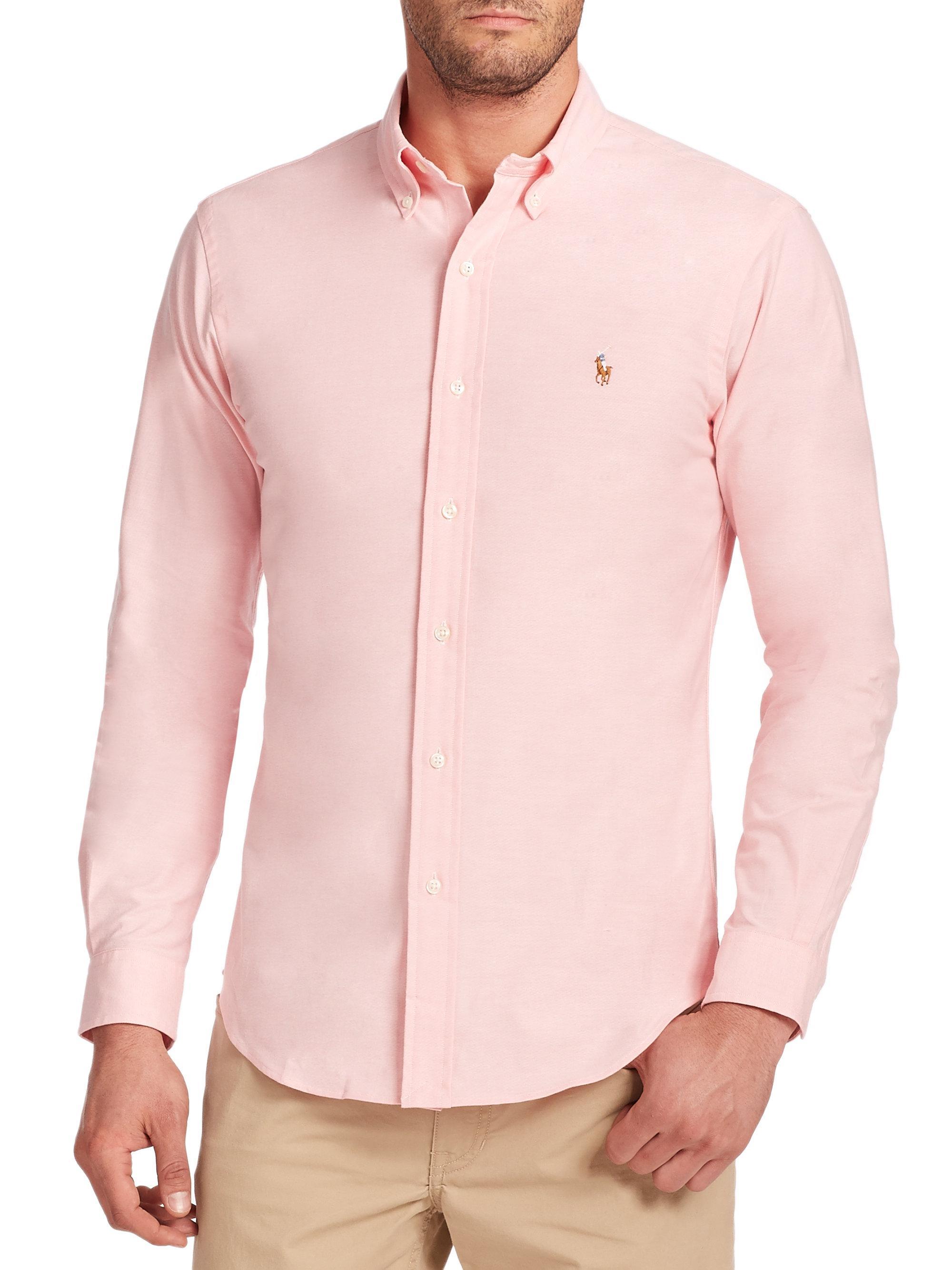 Discount Code For Light Pink Ralph Lauren Polo Shirt 2895a 4dec2