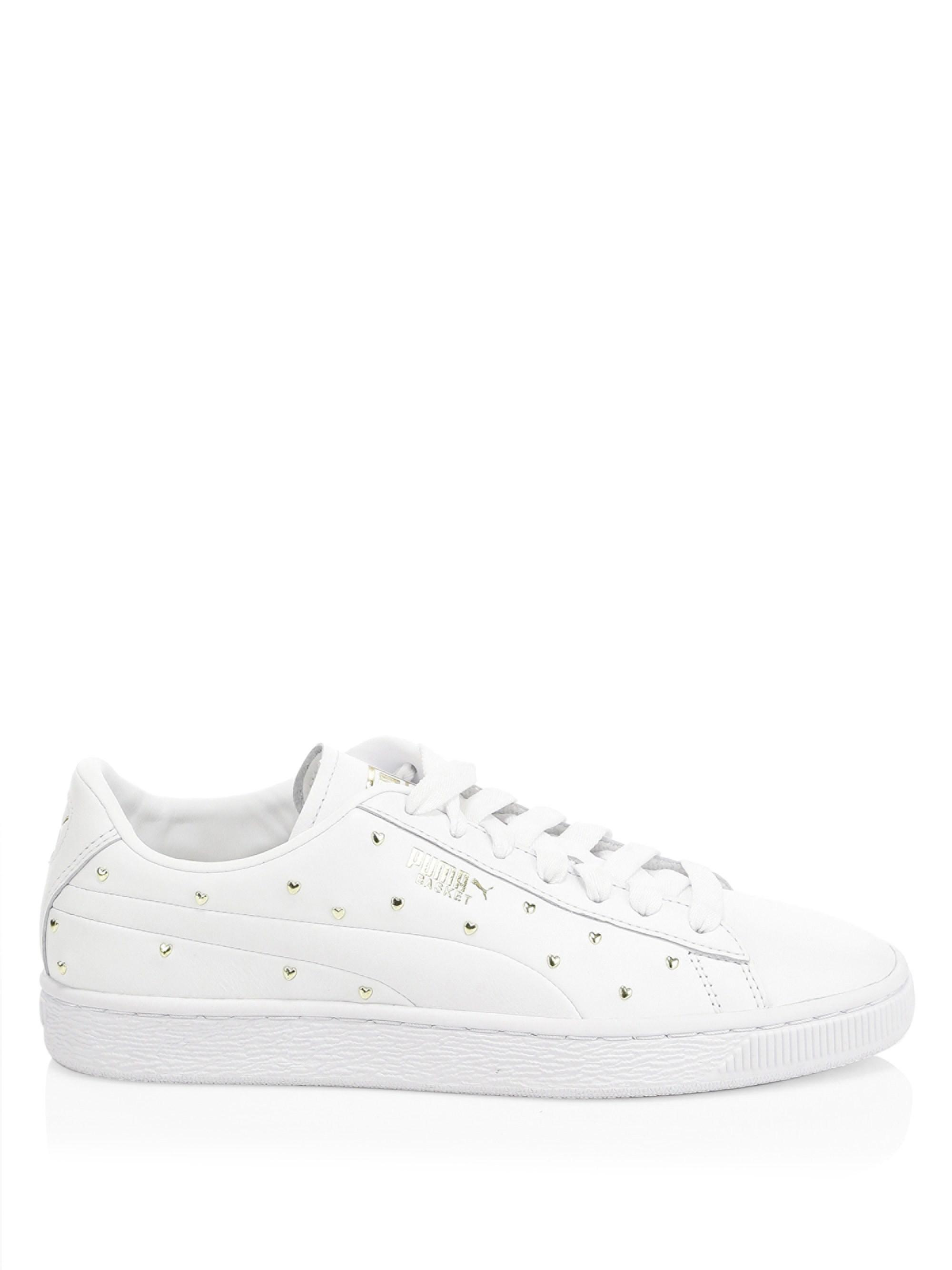 puma basket stud sneakers