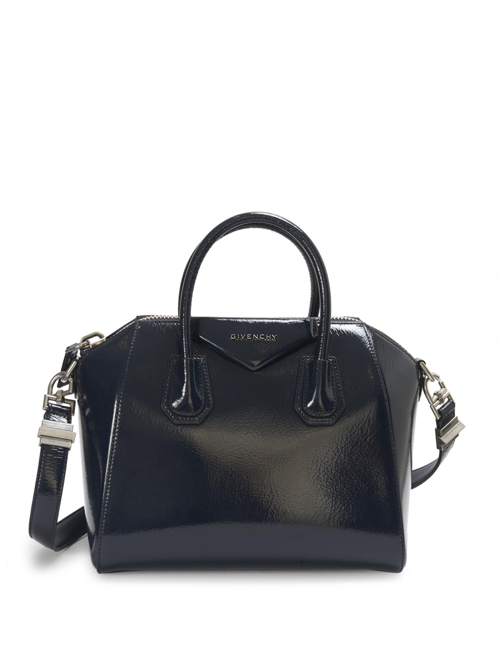 ... the best attitude 997b9 a713e Givenchy - Blue Small Crinkle Antigona Bag  - Lyst. 9375df606e