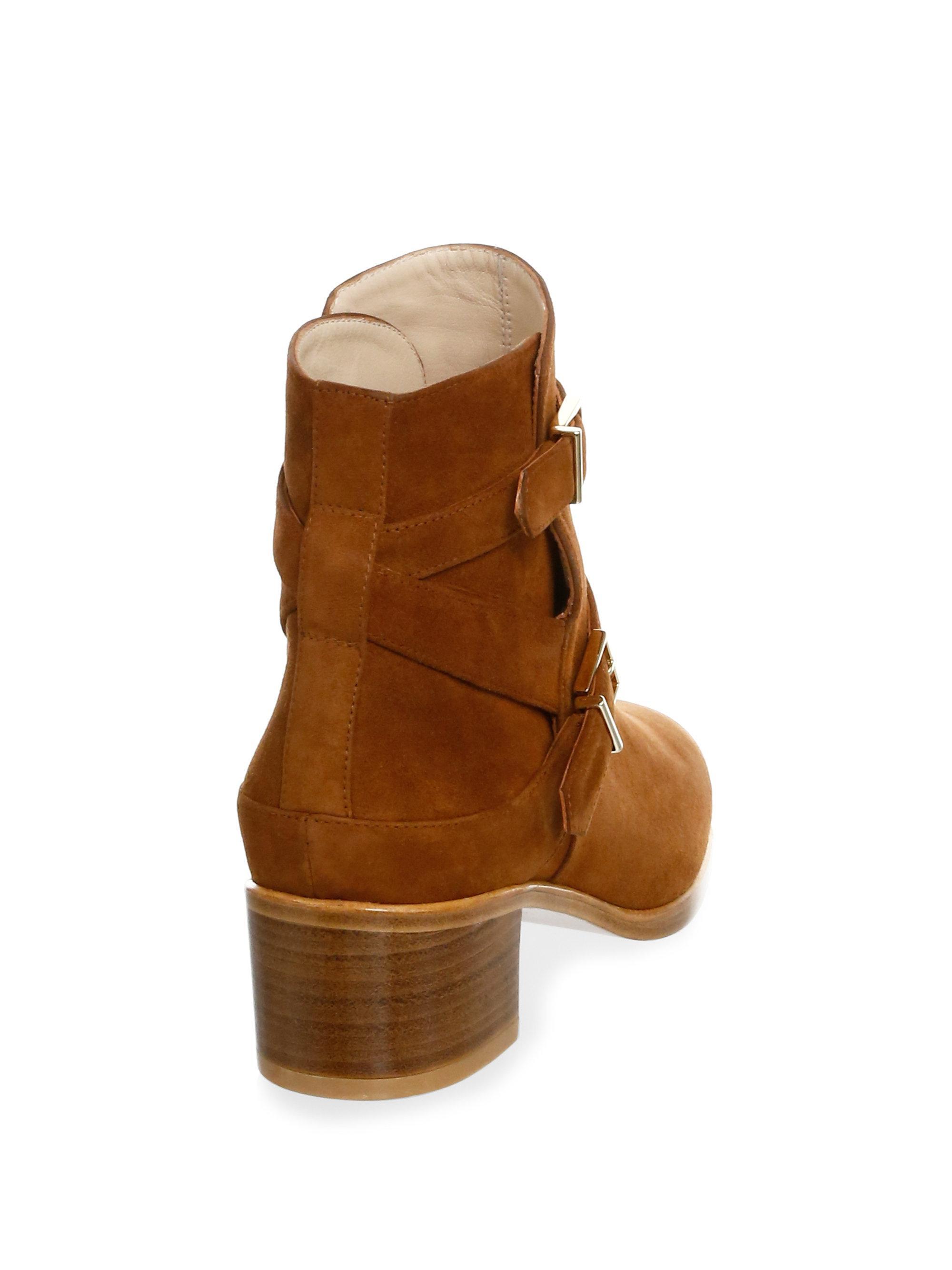 Stuart Weitzman Eastside Suede Ankle Boots CCwWK9XOTQ