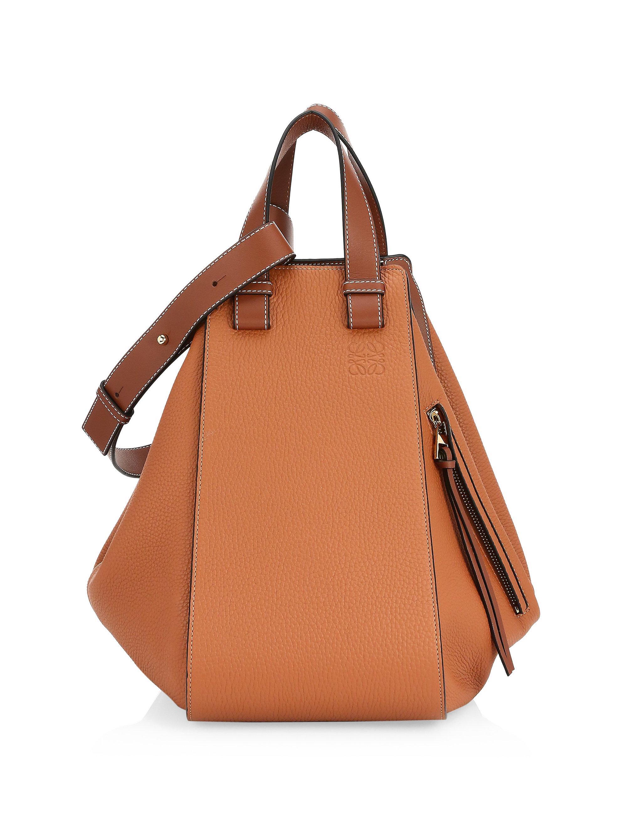 Loewe Large Hammock Bag in Brown - Lyst 26f60971e1130