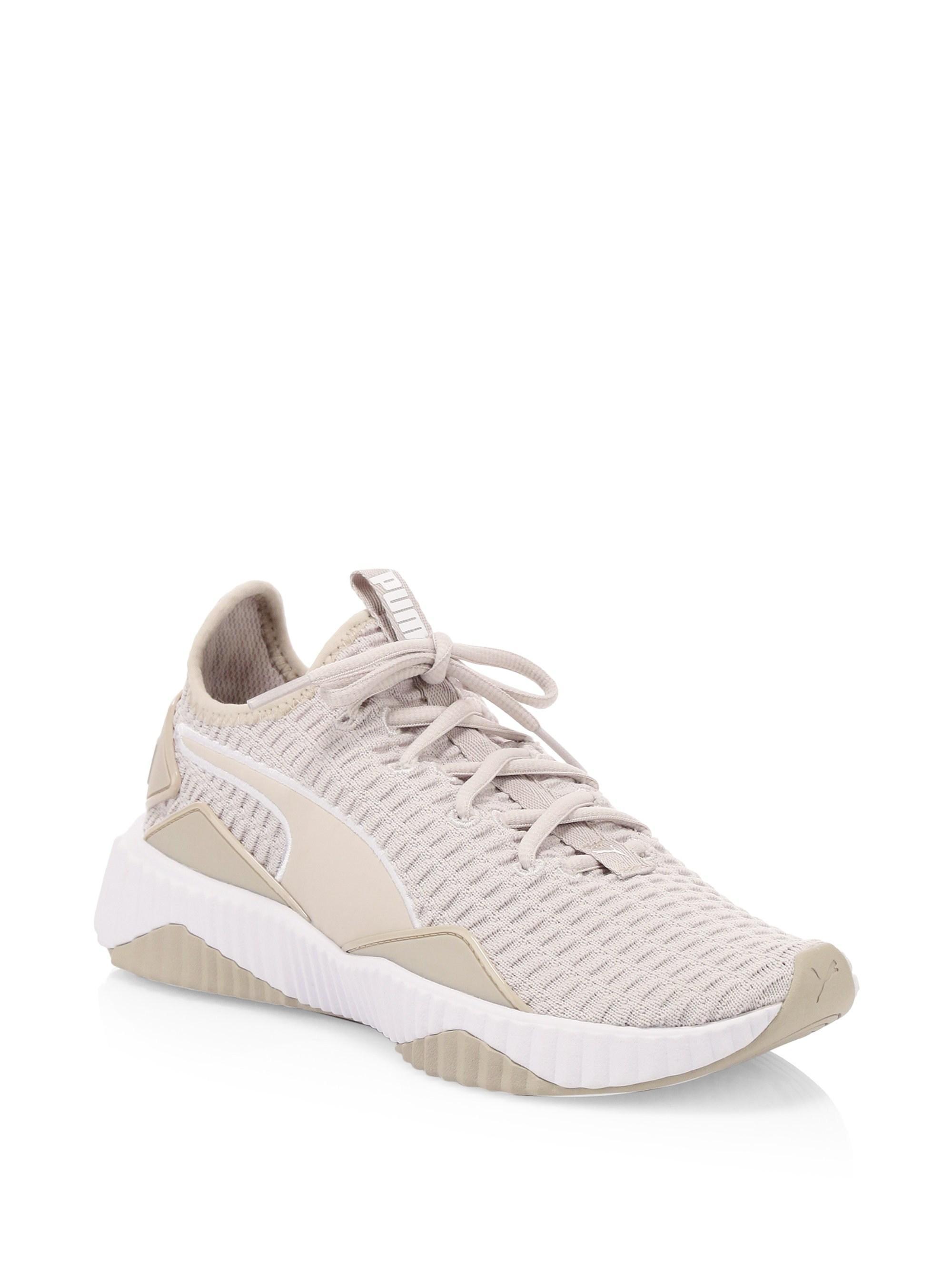 9dec2d3bc5d166 Lyst - PUMA Defy Mesh Sneakers in Gray
