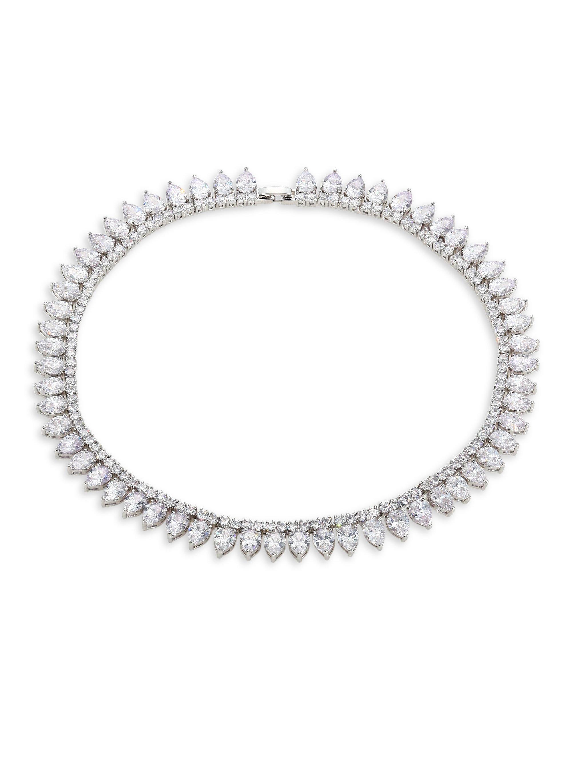 Fallon Monarch Pointed Choker Necklace TWJ0qodKEL