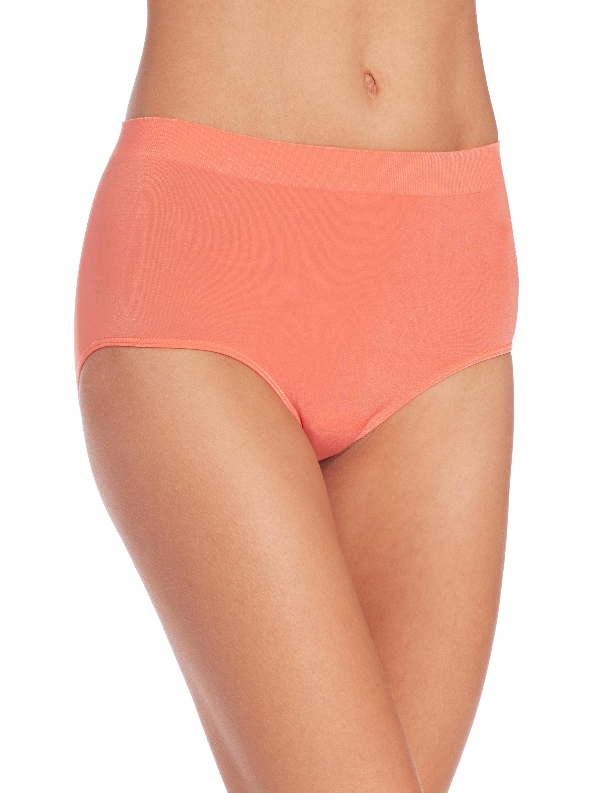 9d68eb25ccea Lyst - Wacoal B-smooth Seamless Brief/3-pack in Orange