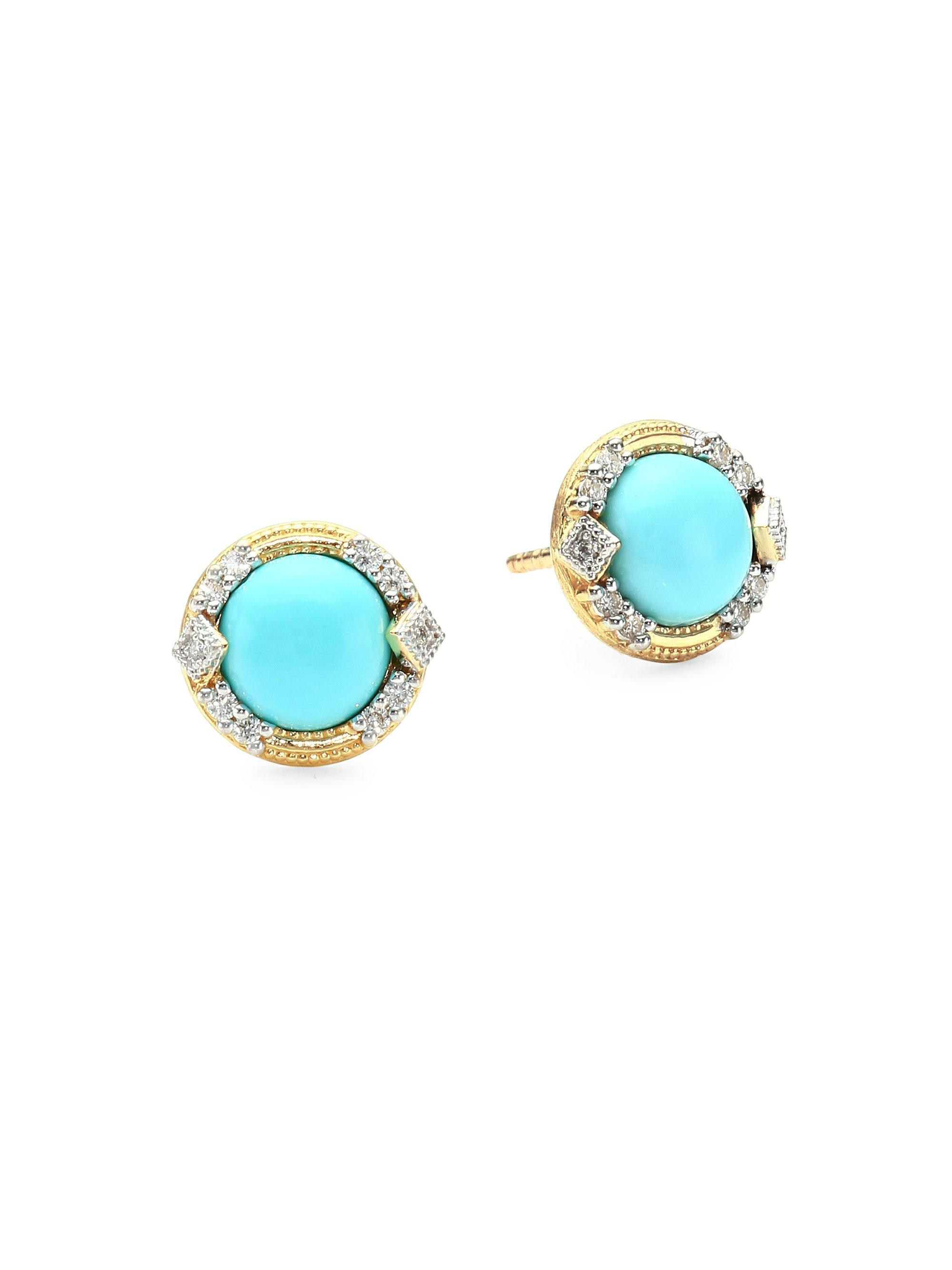 earrings zosia bonas stud jewellery turquoise silver teardrop oliver