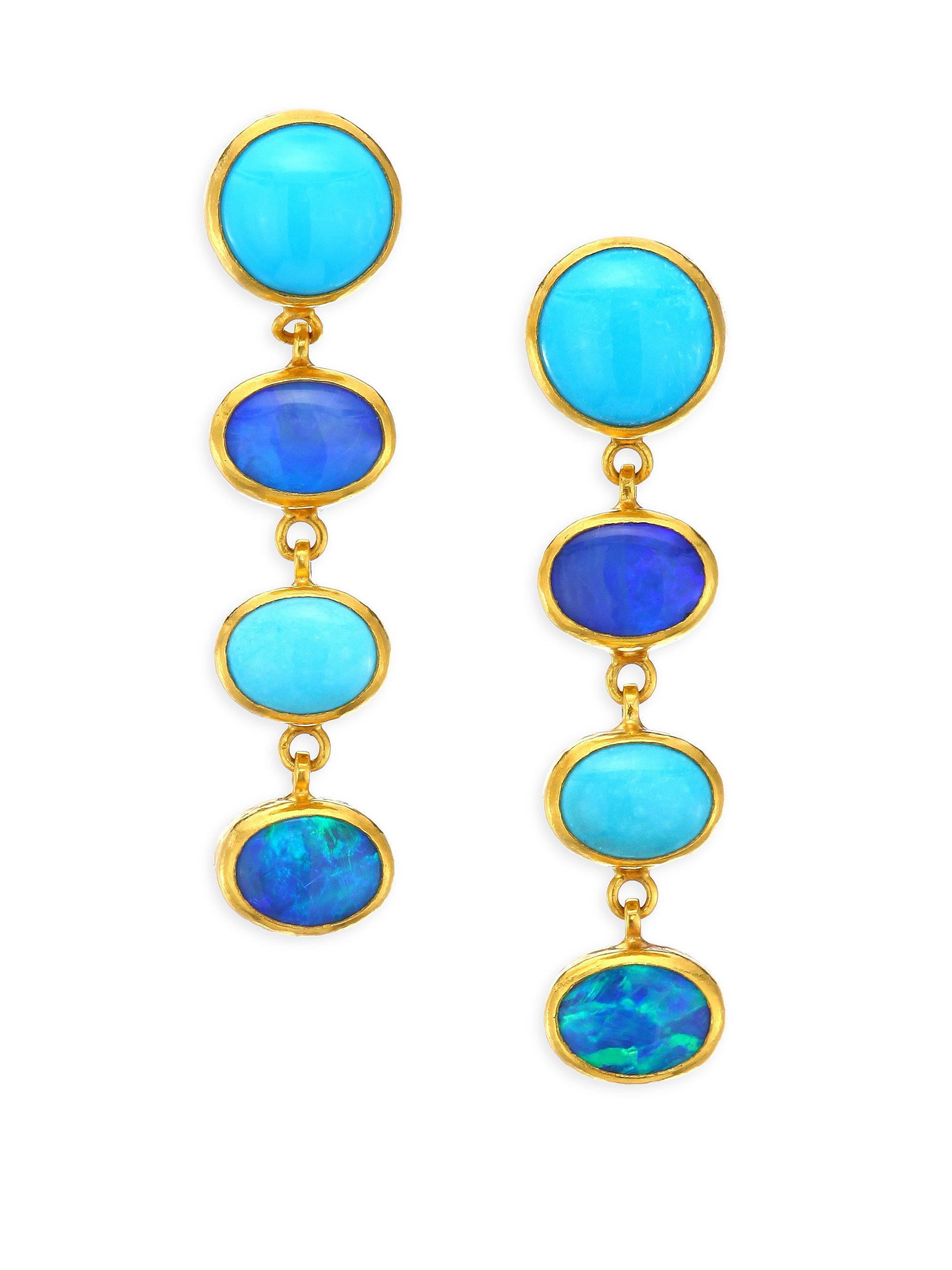 Gurhan Amulet Hue Drop Earrings mEb8b