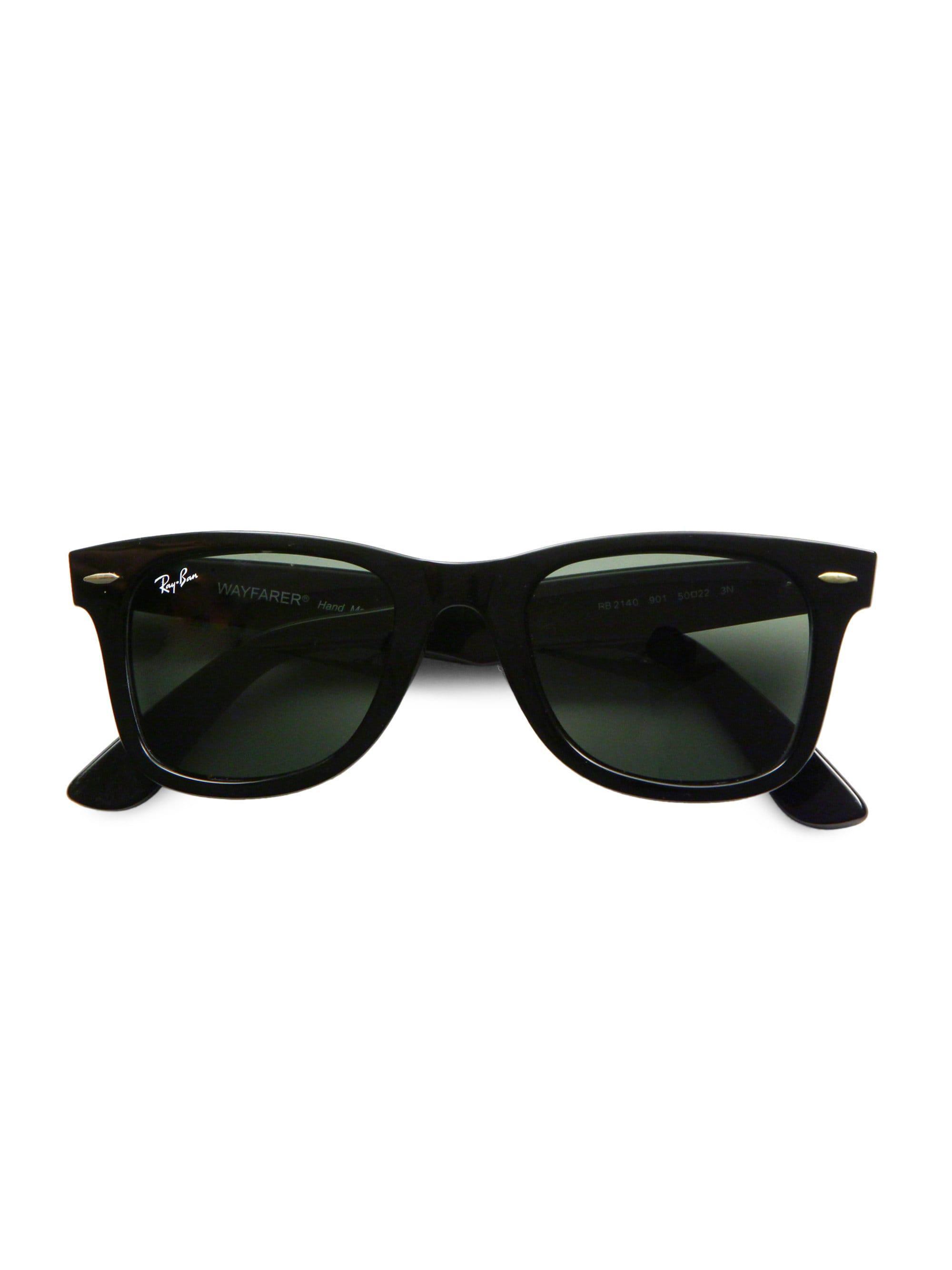 1303d961ce Lyst - Ray-Ban Men s 55mm Classic Wayfarer Sunglasses - Dark ...