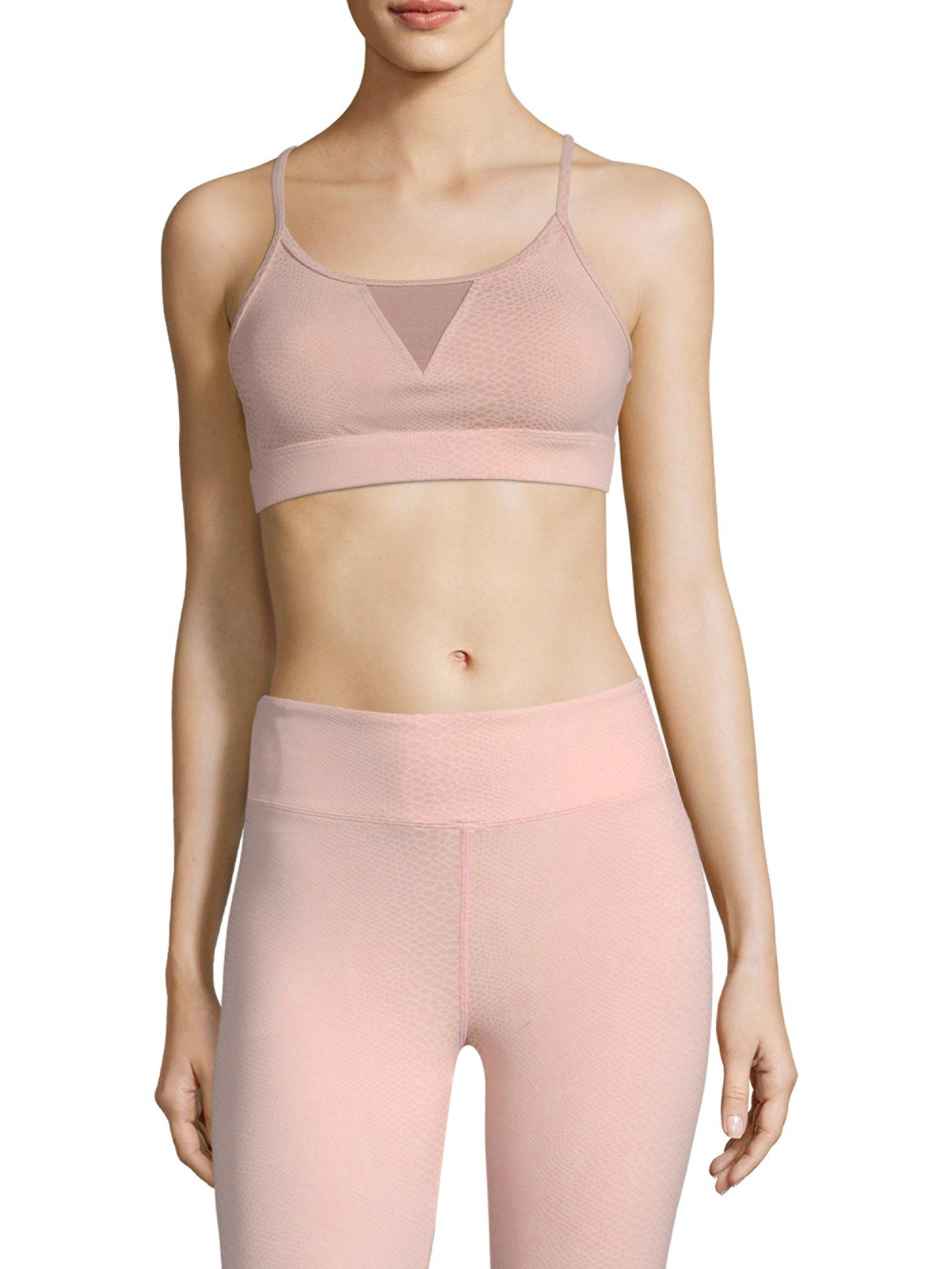 1d409dce4b Koral Trifecta Sports Bra in Pink - Lyst