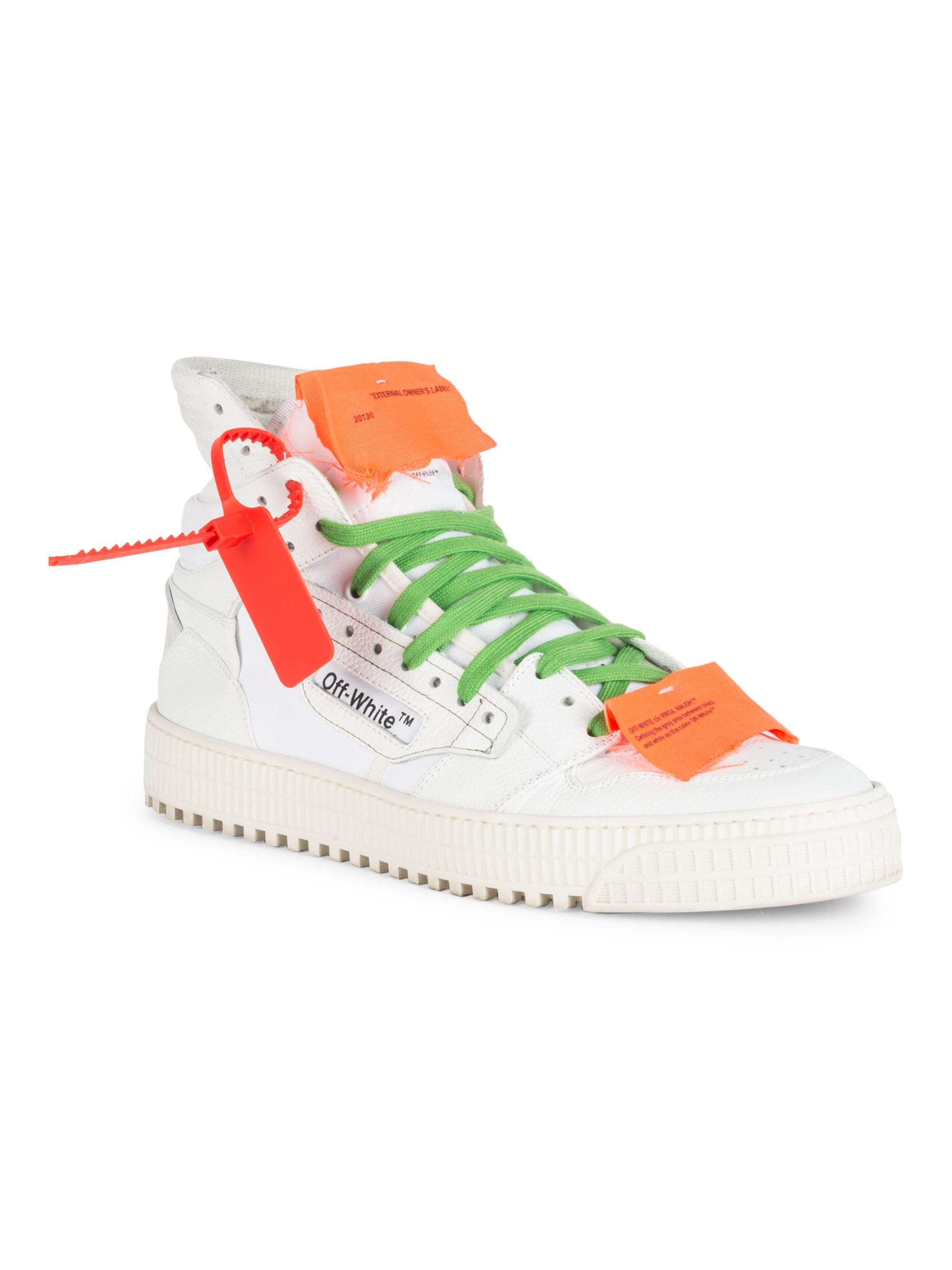 662f9bab50e5e7 Lyst - Off-White c/o Virgil Abloh Men's Low 3.0 High Top Sneaker ...