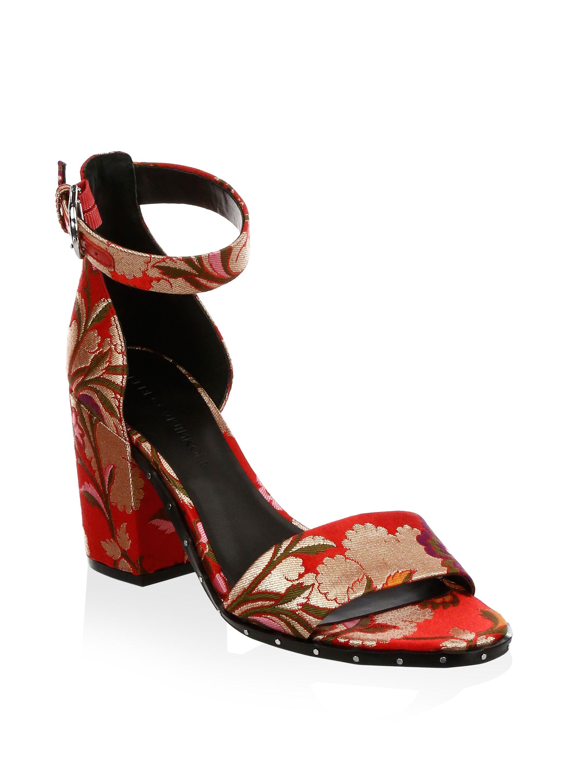 5fb04d3ab5ab0f Lyst - Rebecca Minkoff Celia Ankle-strap Pumps in Red
