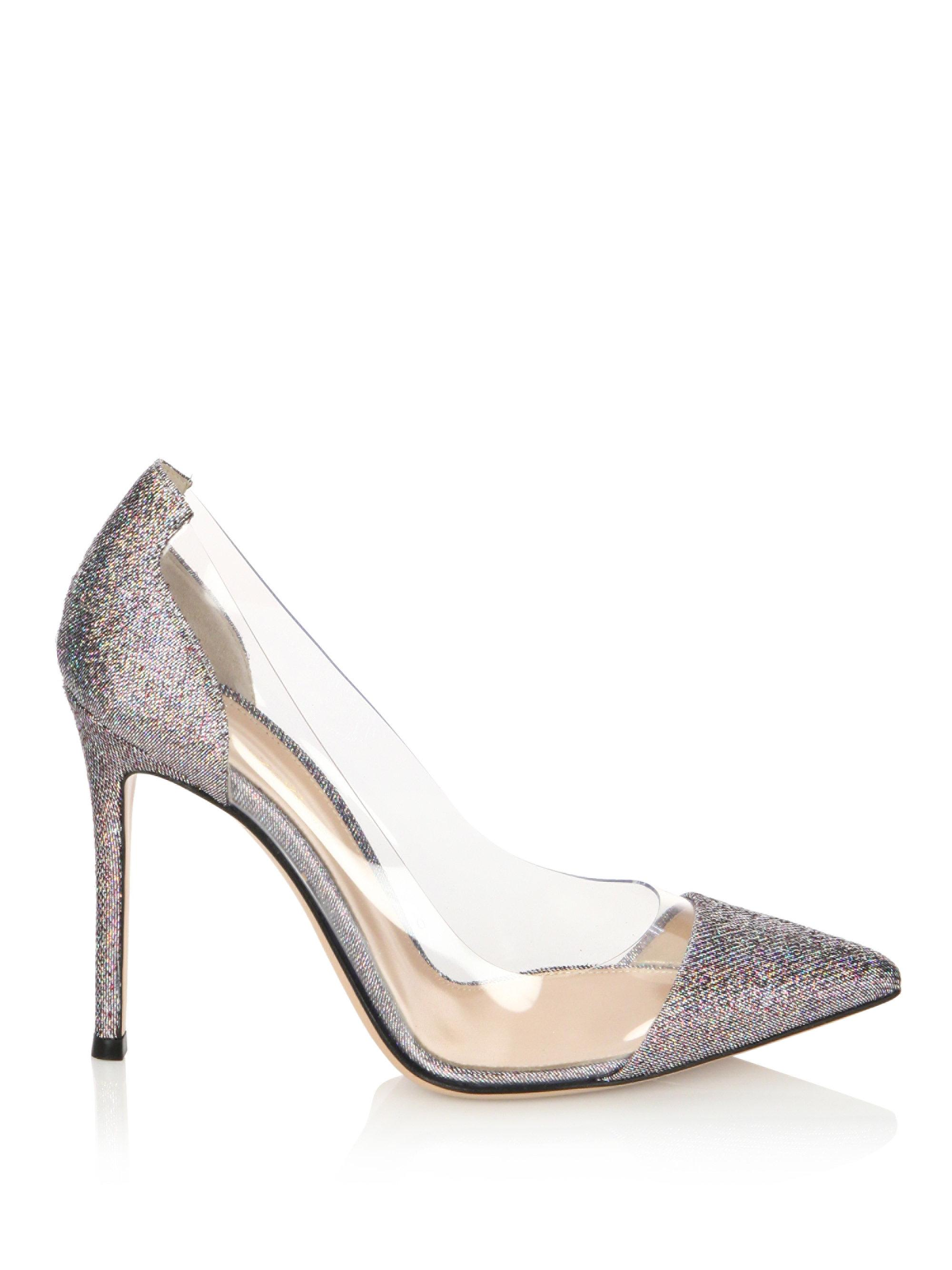 Gianvito Rossi PVC Snakeskin Pumps sale clearance discount ebay 2014 newest sale under $60 6sjrT2E