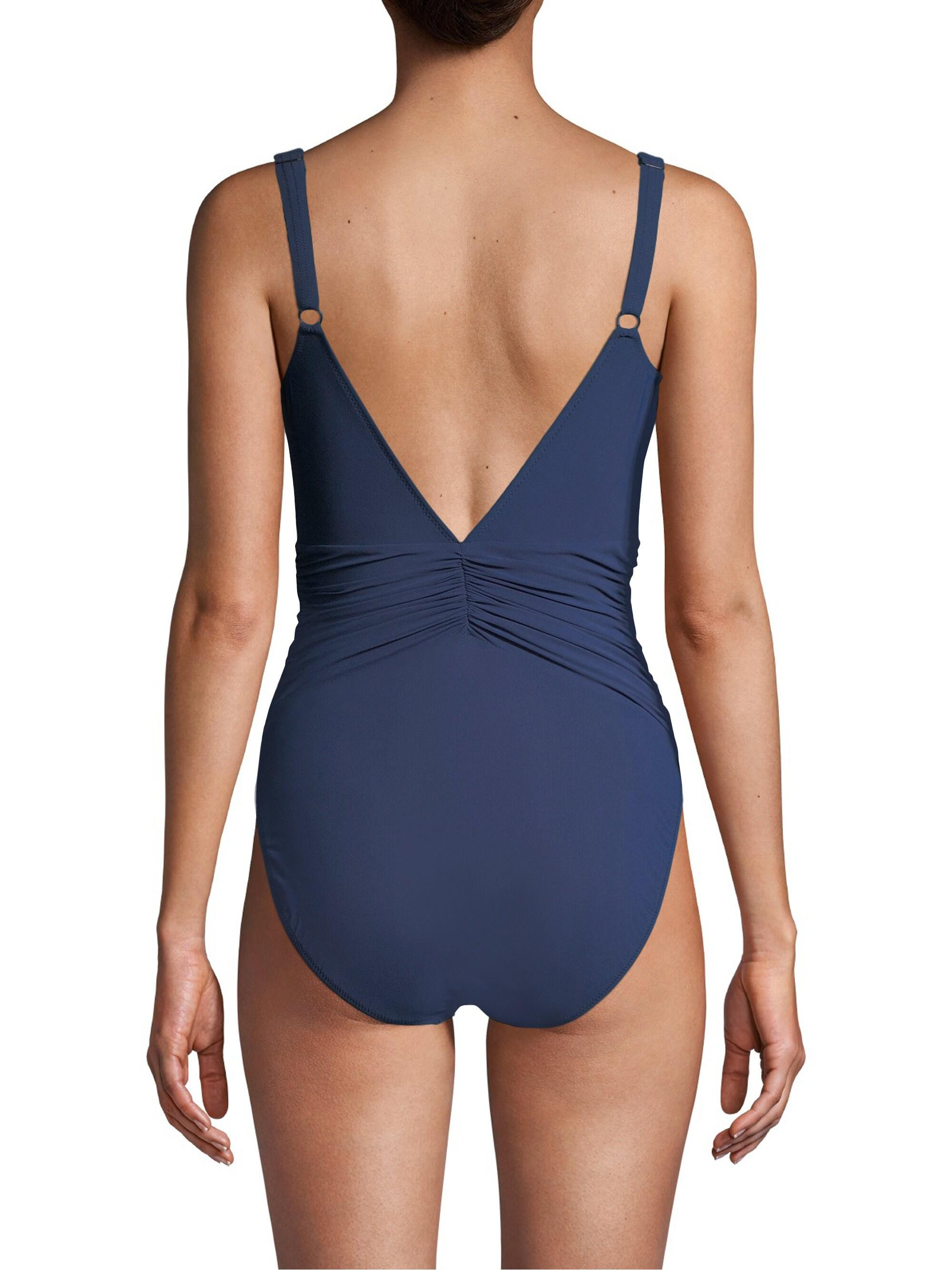 ae89e26b382a4 Gottex - Blue Murano V - Neck One Piece Swimsuit - Lyst. View fullscreen