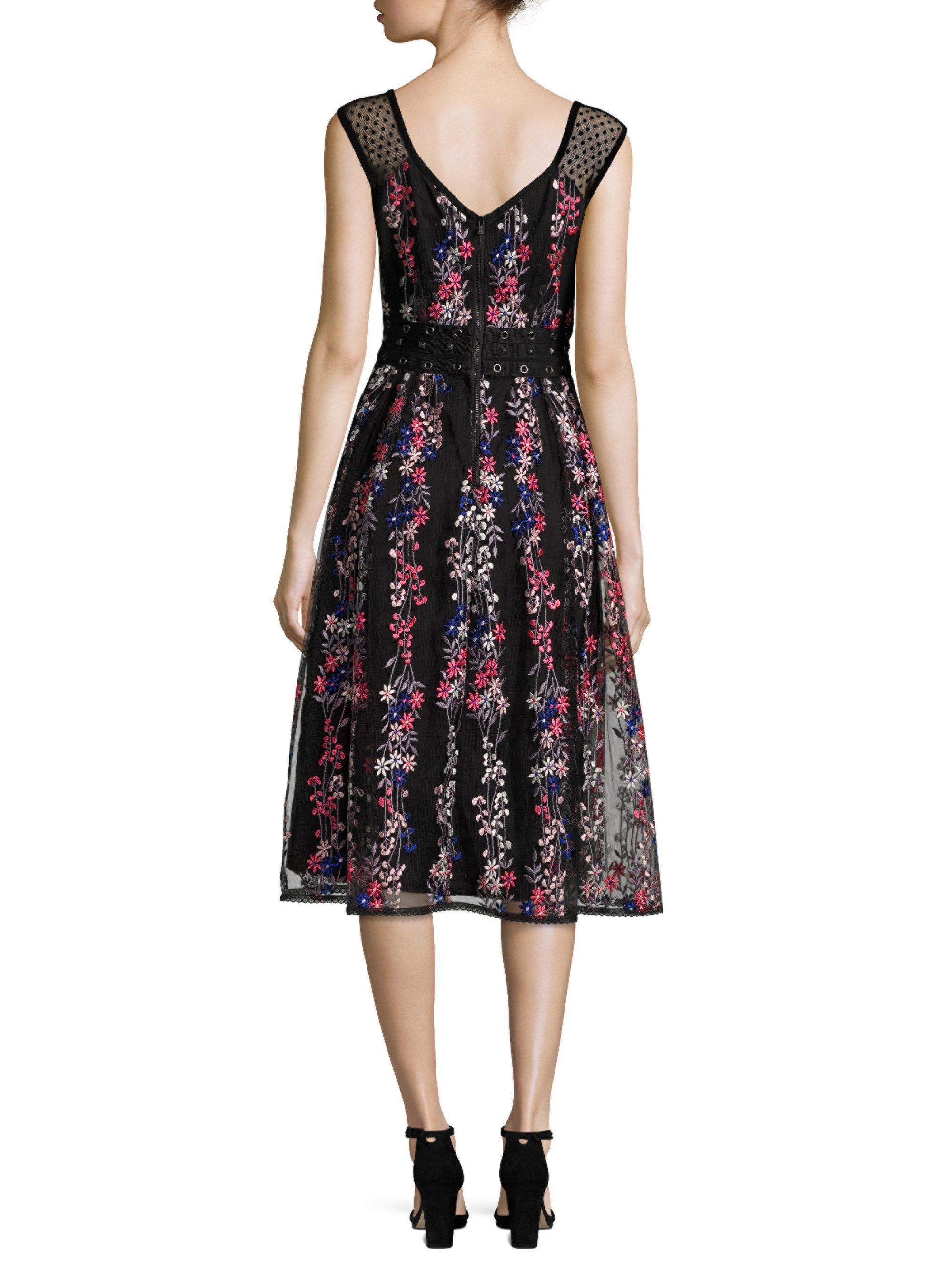 Nanette Lepore Synthetic Michelle Dress In Black Lyst