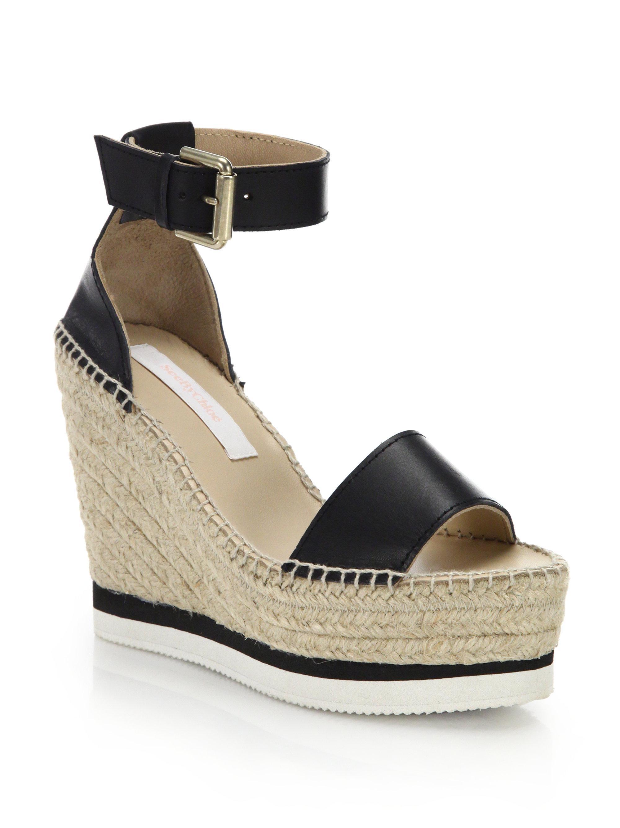 Chloé Black Delphine Sandals ffhkp