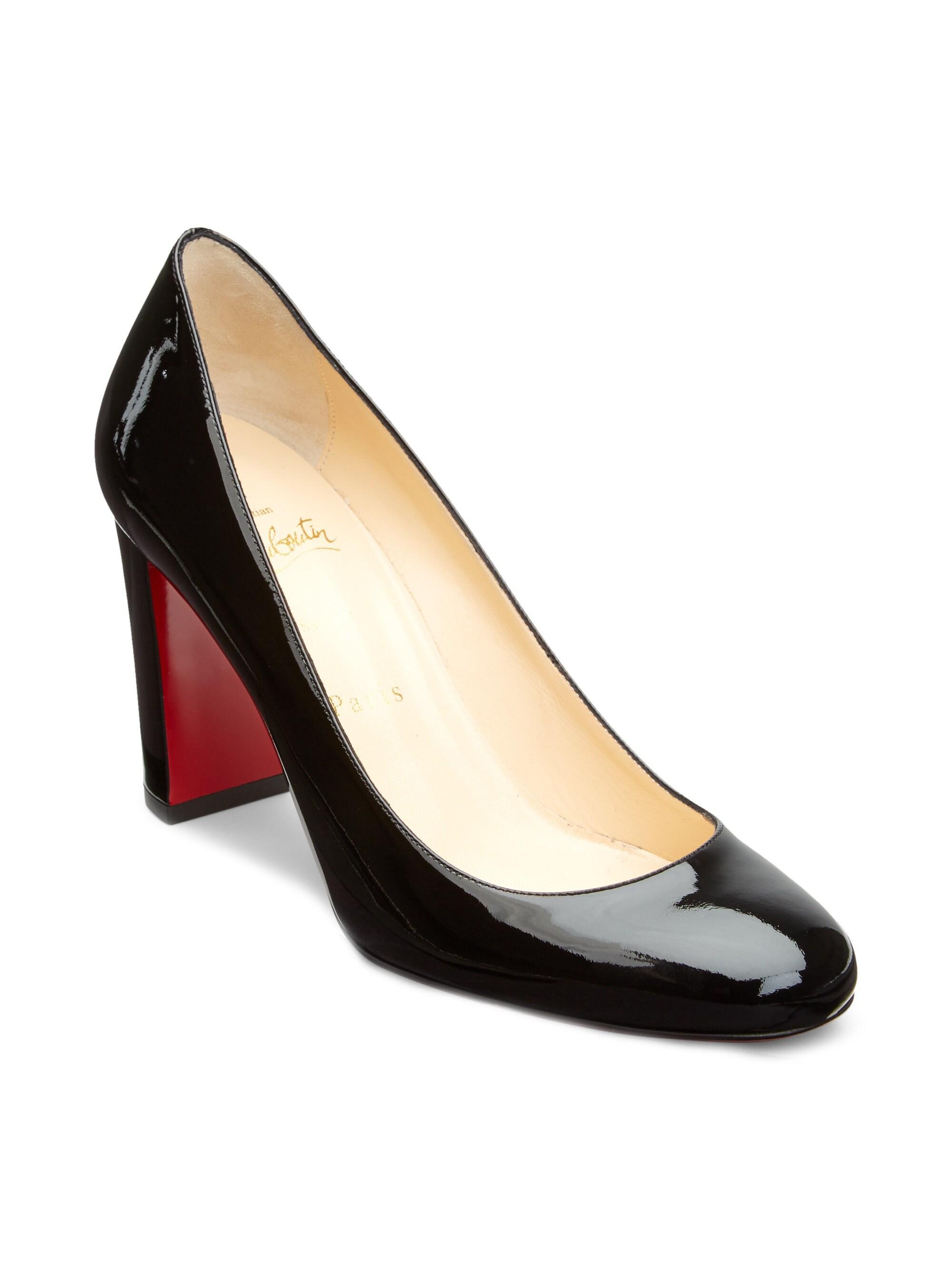 493fcd20bd3 Women's Lady Gena 85 Black Patent Leather Pumps
