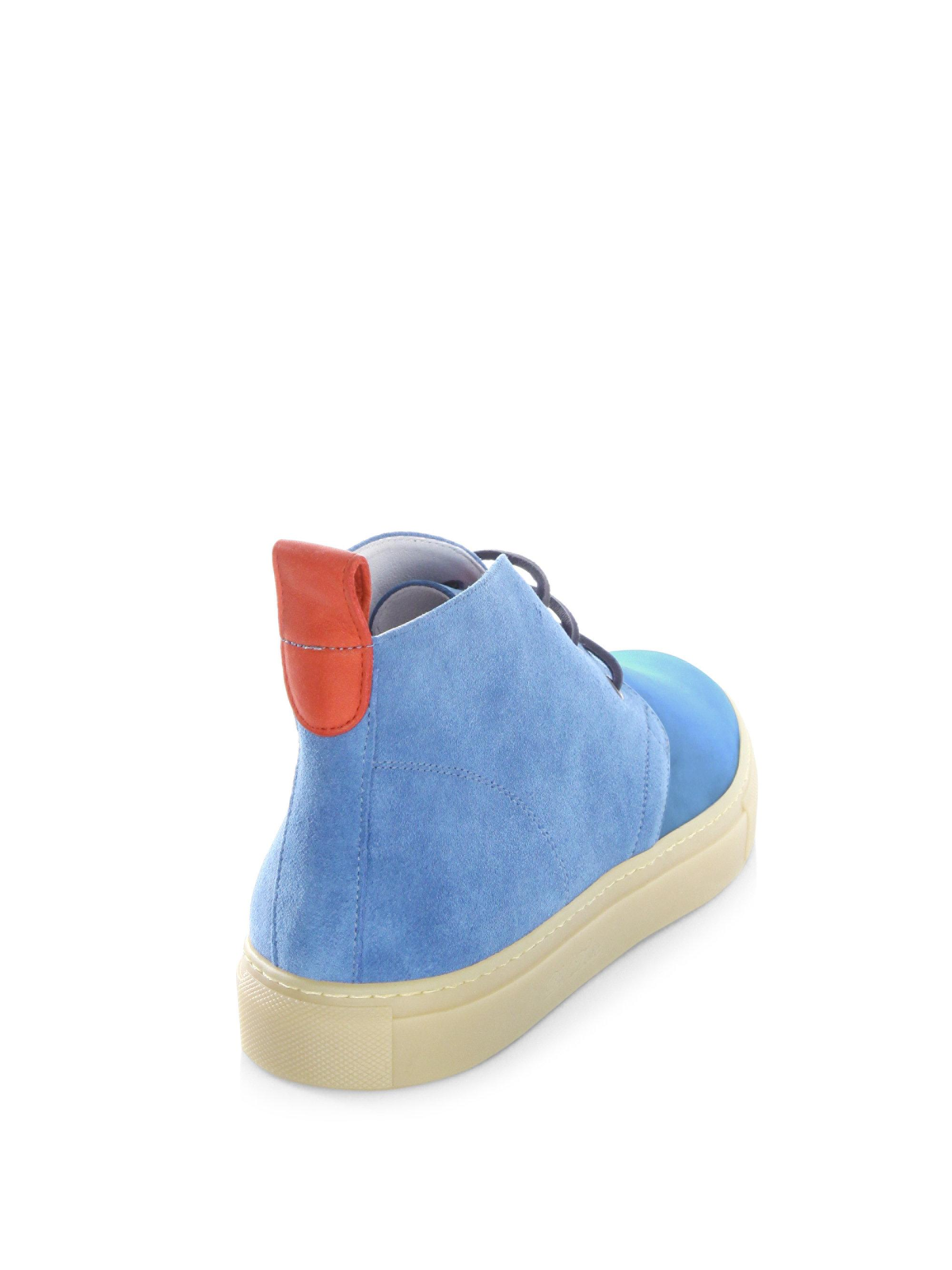 DEL TORO Lace-Up High-Top Sneakers cKzRr