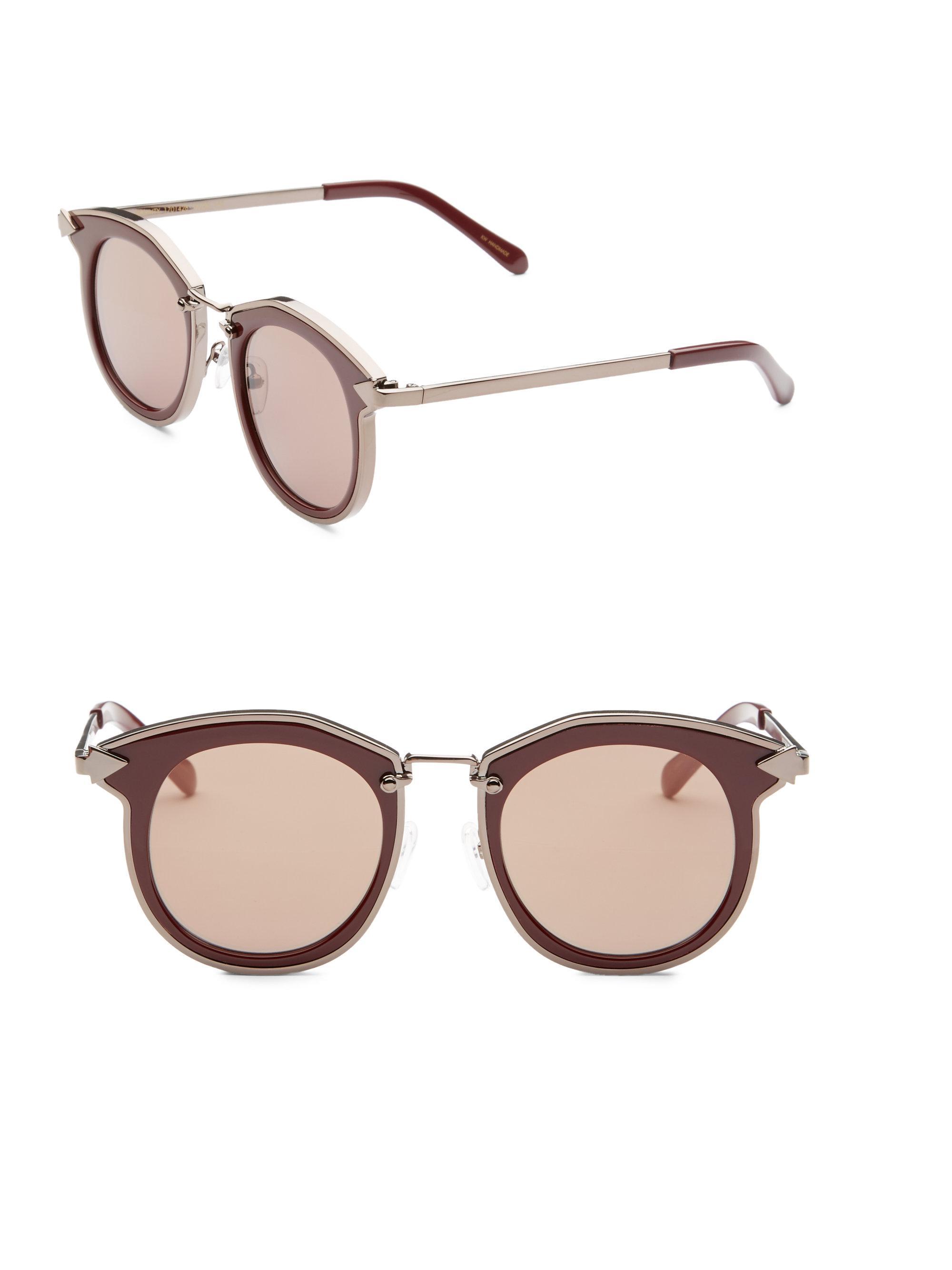 6c4d4c045de Karen Walker. Women s Bounty 47mm Round Sunglasses