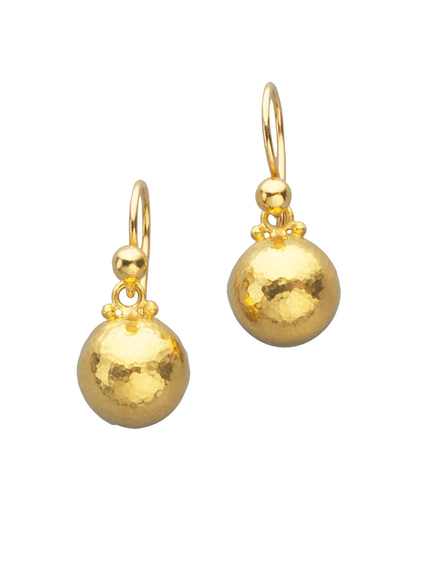 Gurhan Amulet 24k Pave Diamond Double-Drop Earrings d8WGwj