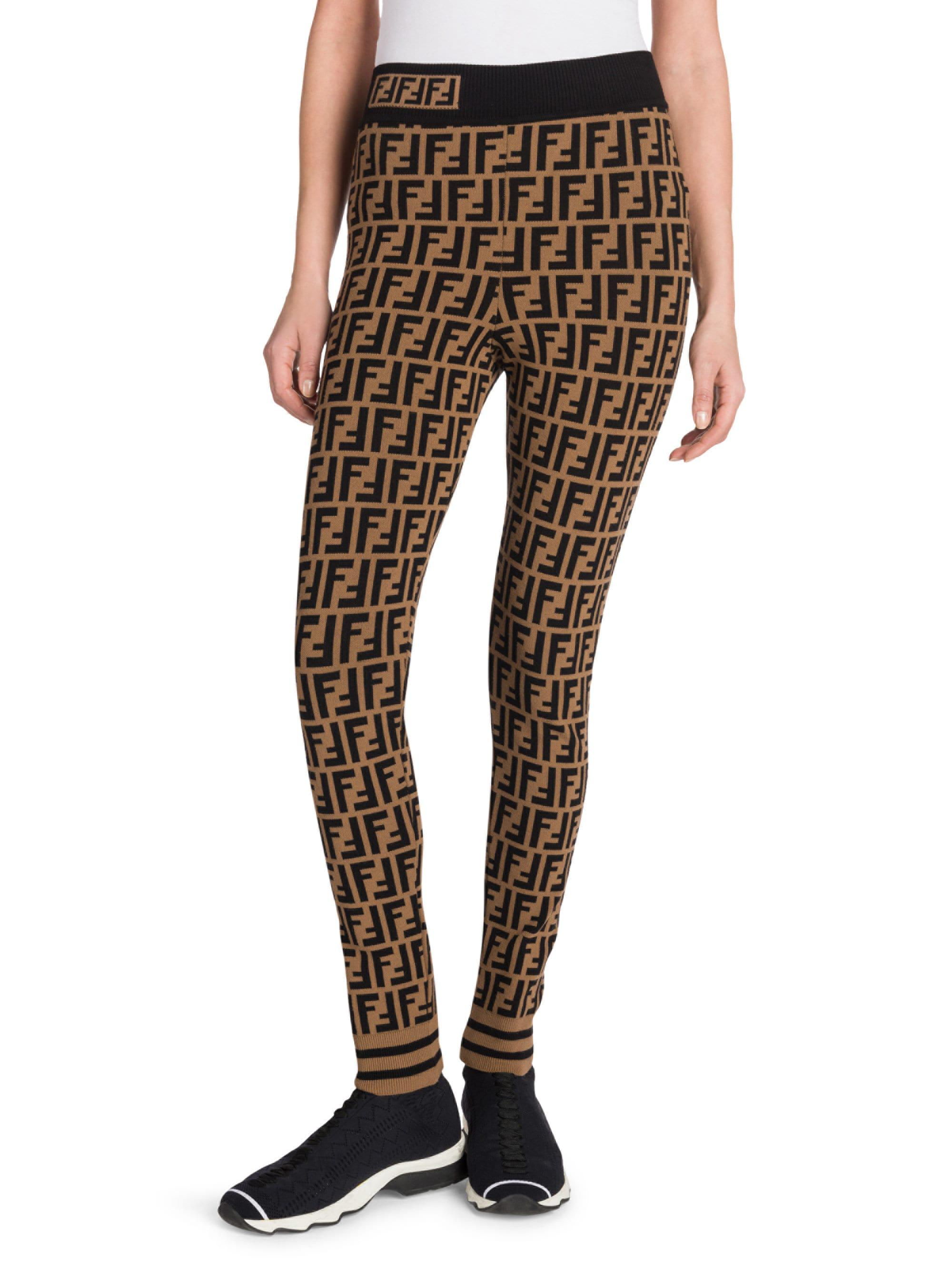 Fendi Logo Leggings Off 74 Free Shipping