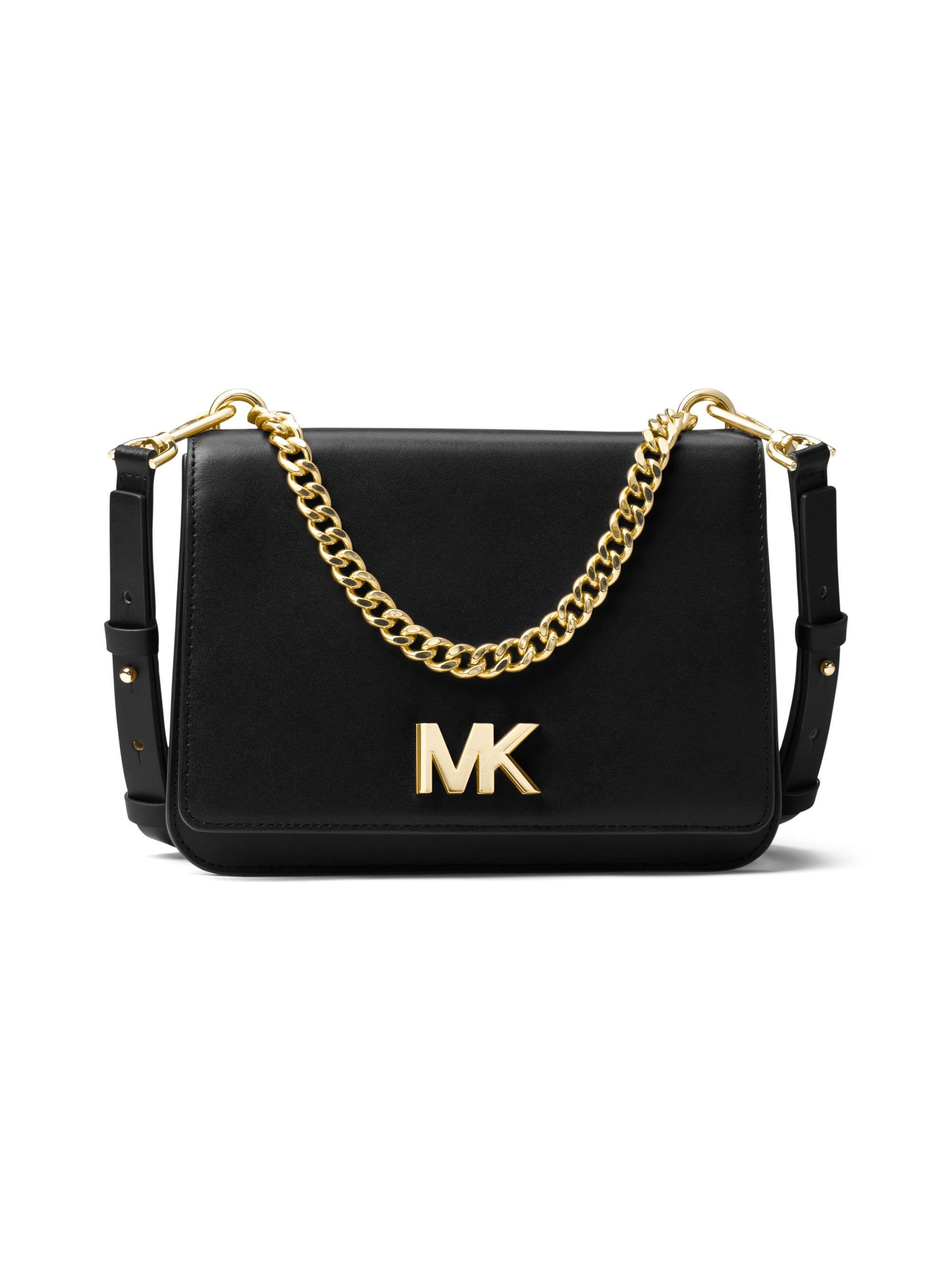 5152779aba92b Lyst - MICHAEL Michael Kors Mott Large Chain Swag Shoulder Bag in ...