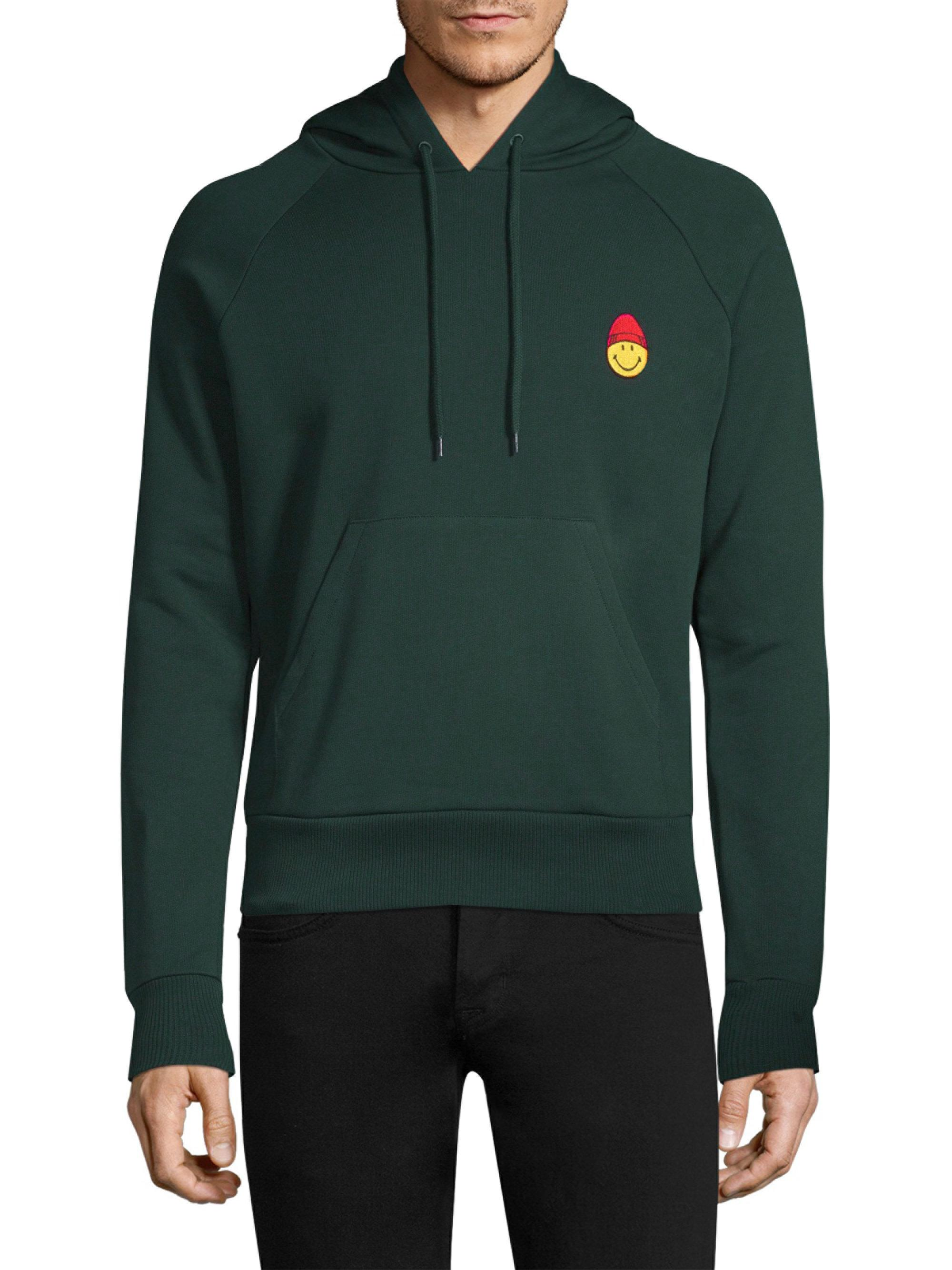Best Store To Get Cheap Price New Arrival For Sale Smiley cotton hoodie Ami FFbrxnheni