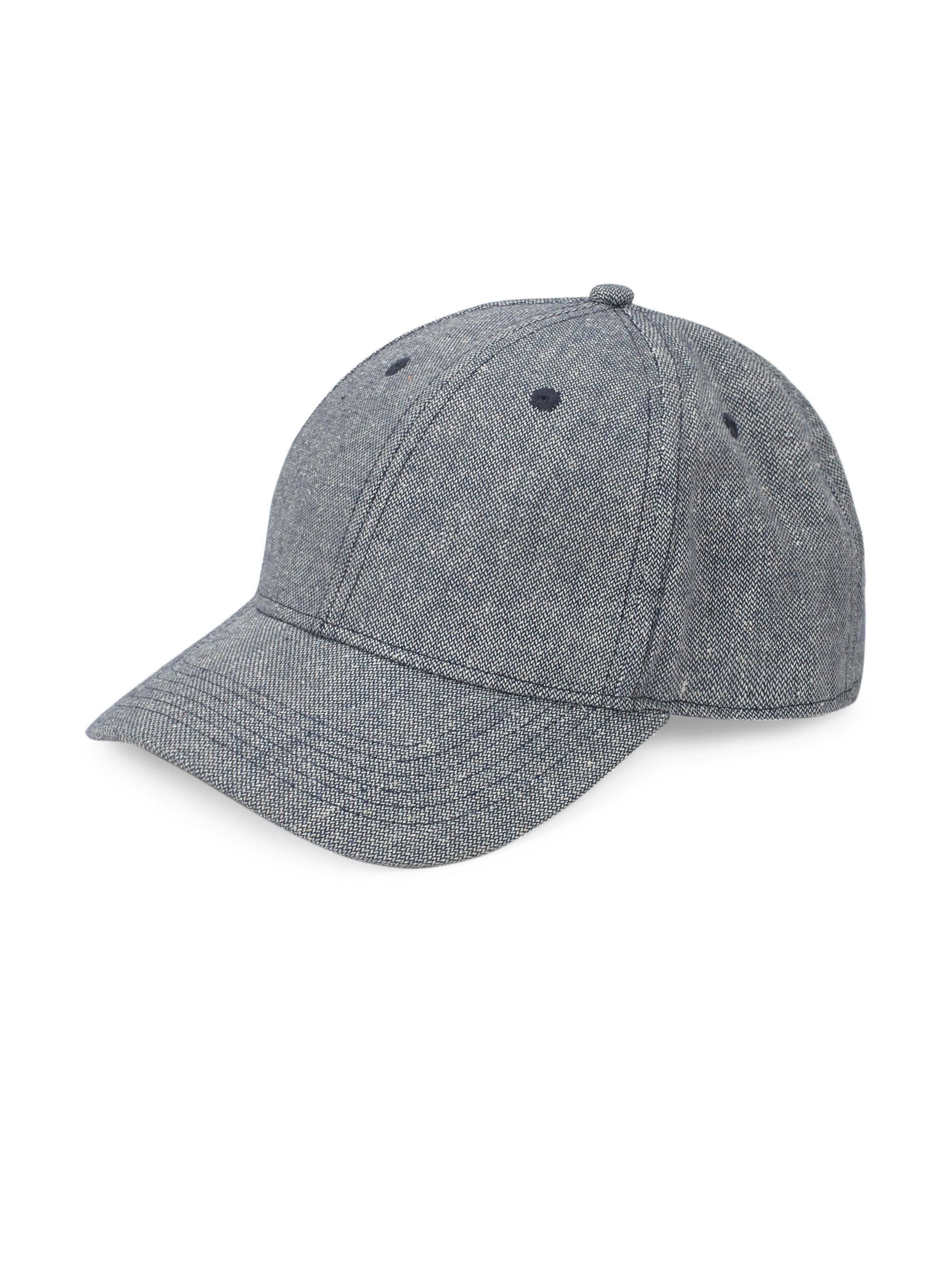 b6b9068d0a9 Gents Executive Hemp Baseball Cap in Gray for Men - Lyst