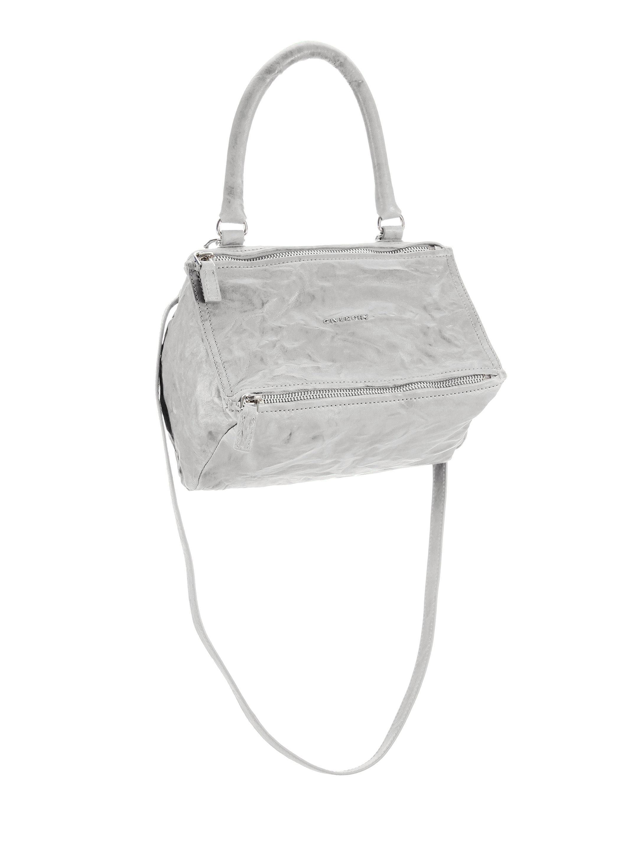 299aa37cf62 ... big sale 59463 5d335  Givenchy. Womens Gray Pandora Small Pepe Leather  Shoulder Bag size 40 eb90b 0855e ...