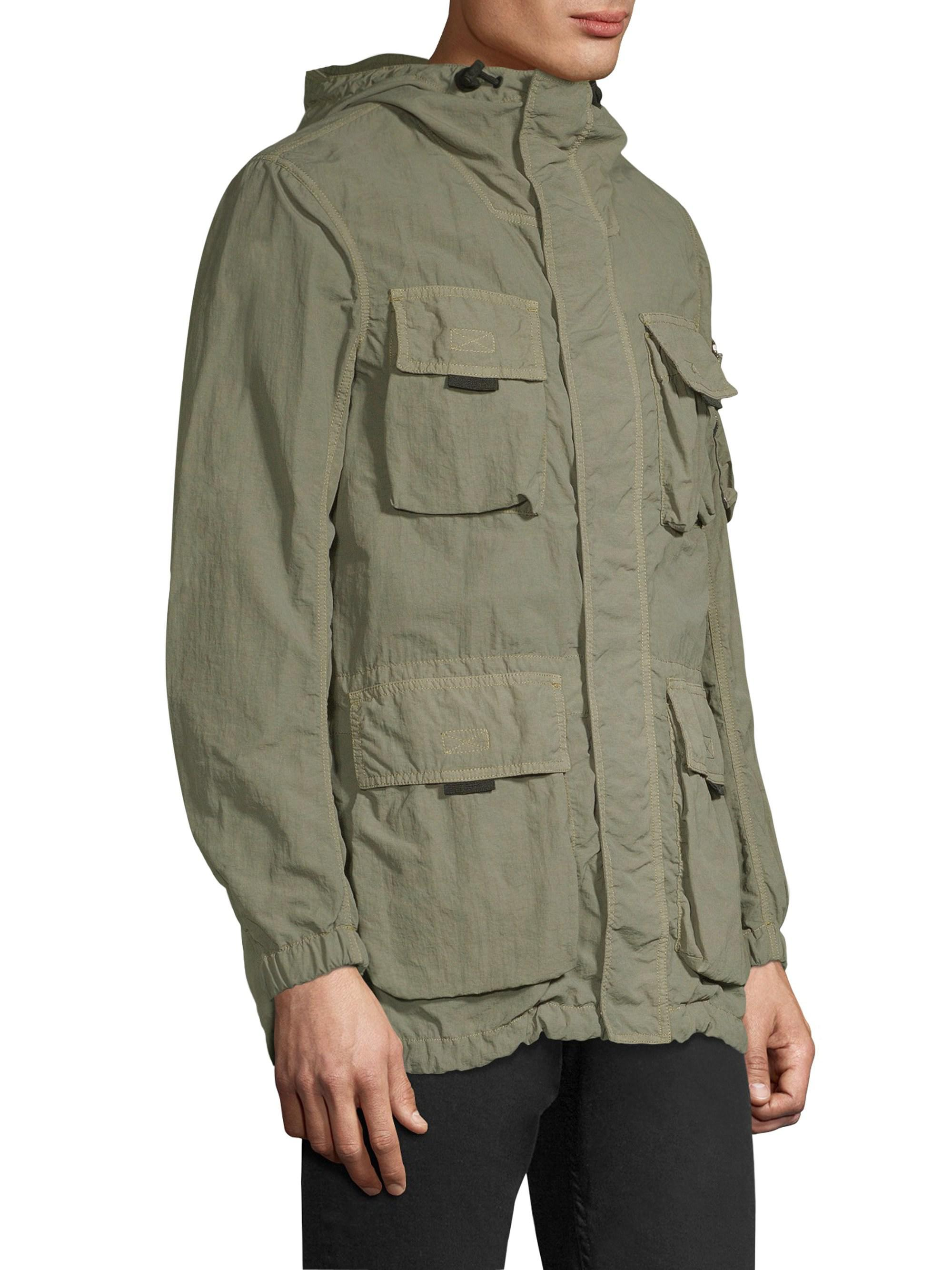 90a6d57b65 Belstaff Pallington Light Nylon Field Jacket in Green for Men - Lyst