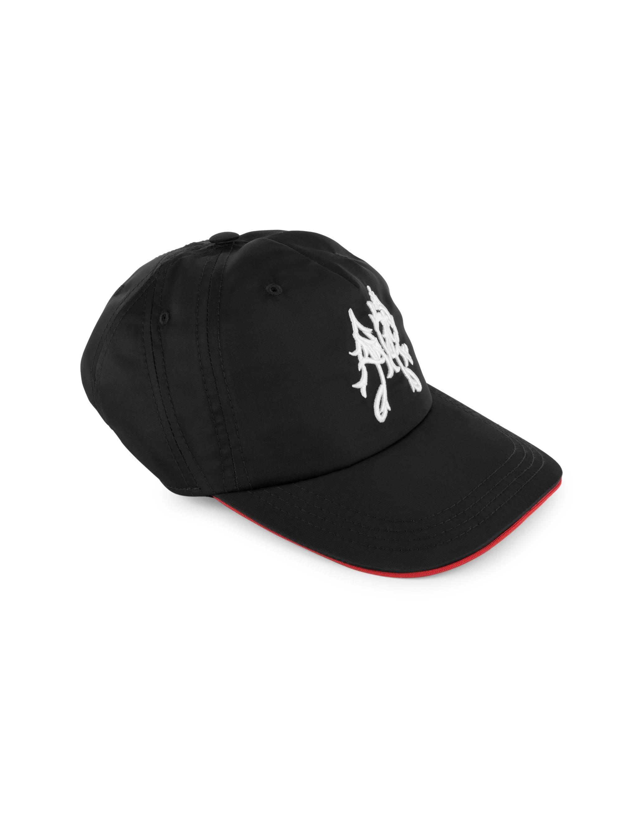 02ee8246798692 Lyst - Alexander McQueen Men's Patchwork Logo Baseball Hat - Black ...