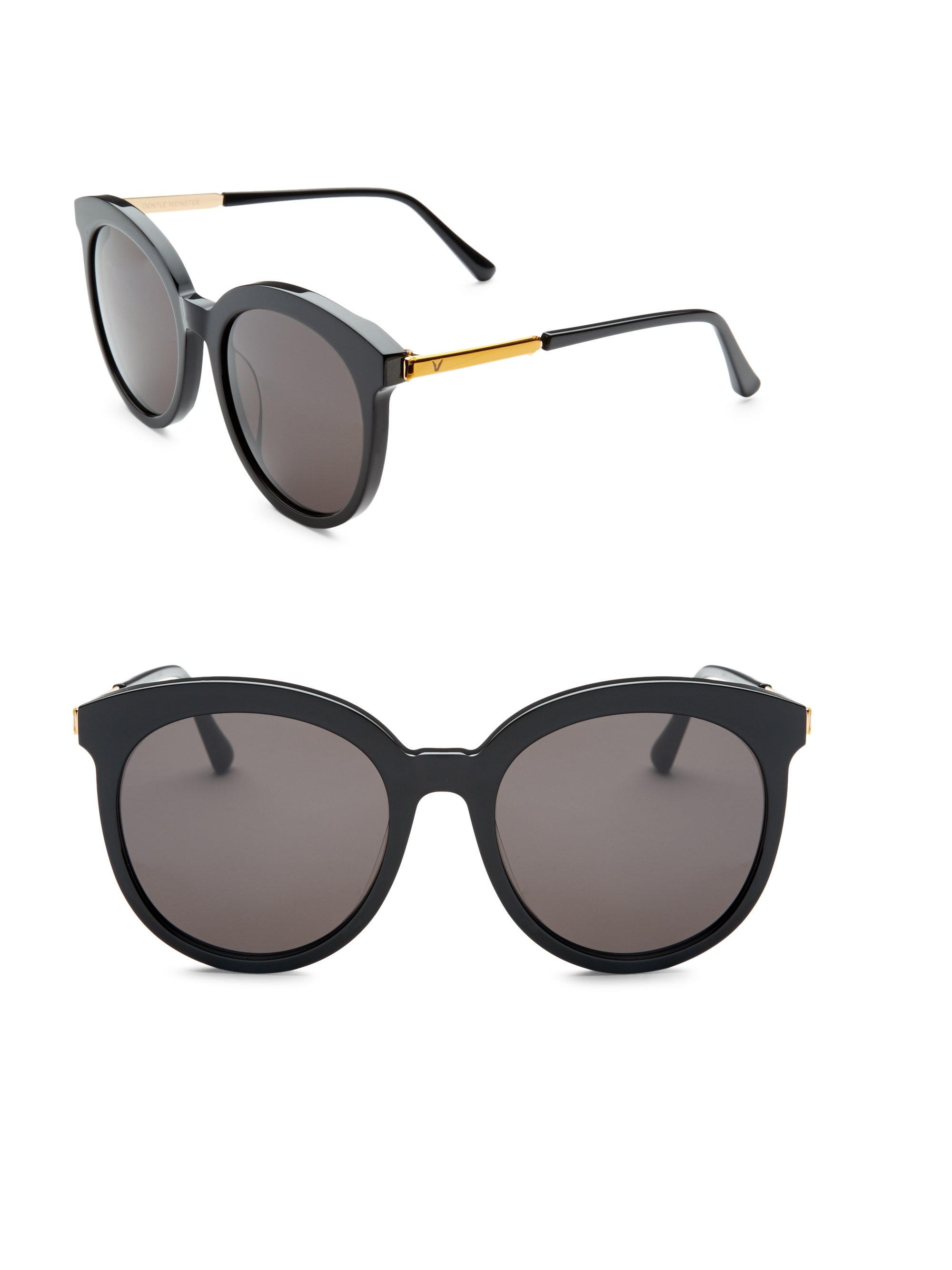f3f0986c0040 Lyst - Gentle Monster Love Me Some Tale 55mm Sunglasses in Black