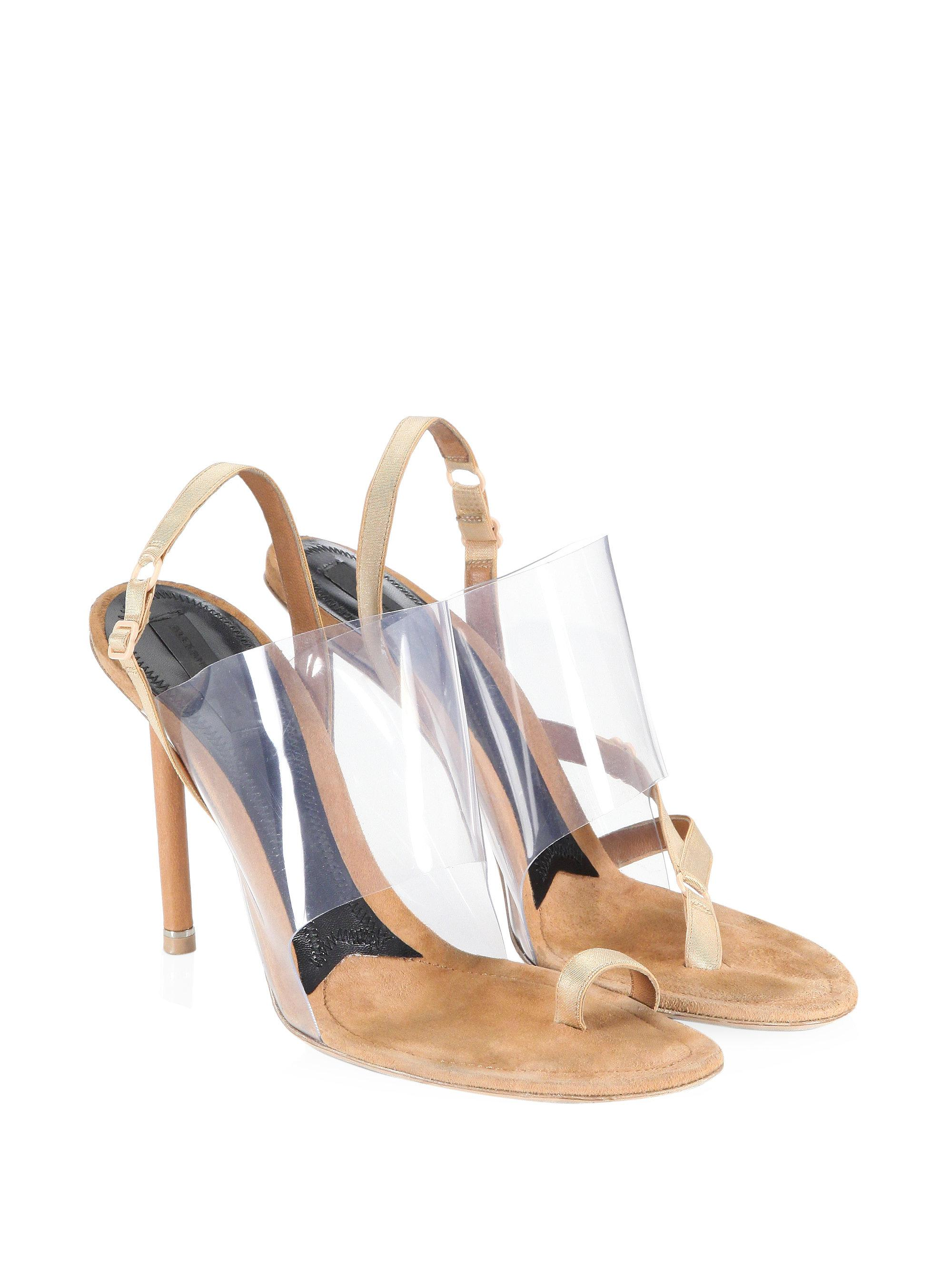 d7311fb64bb Women's Kaia Pvc High Heel Sandals