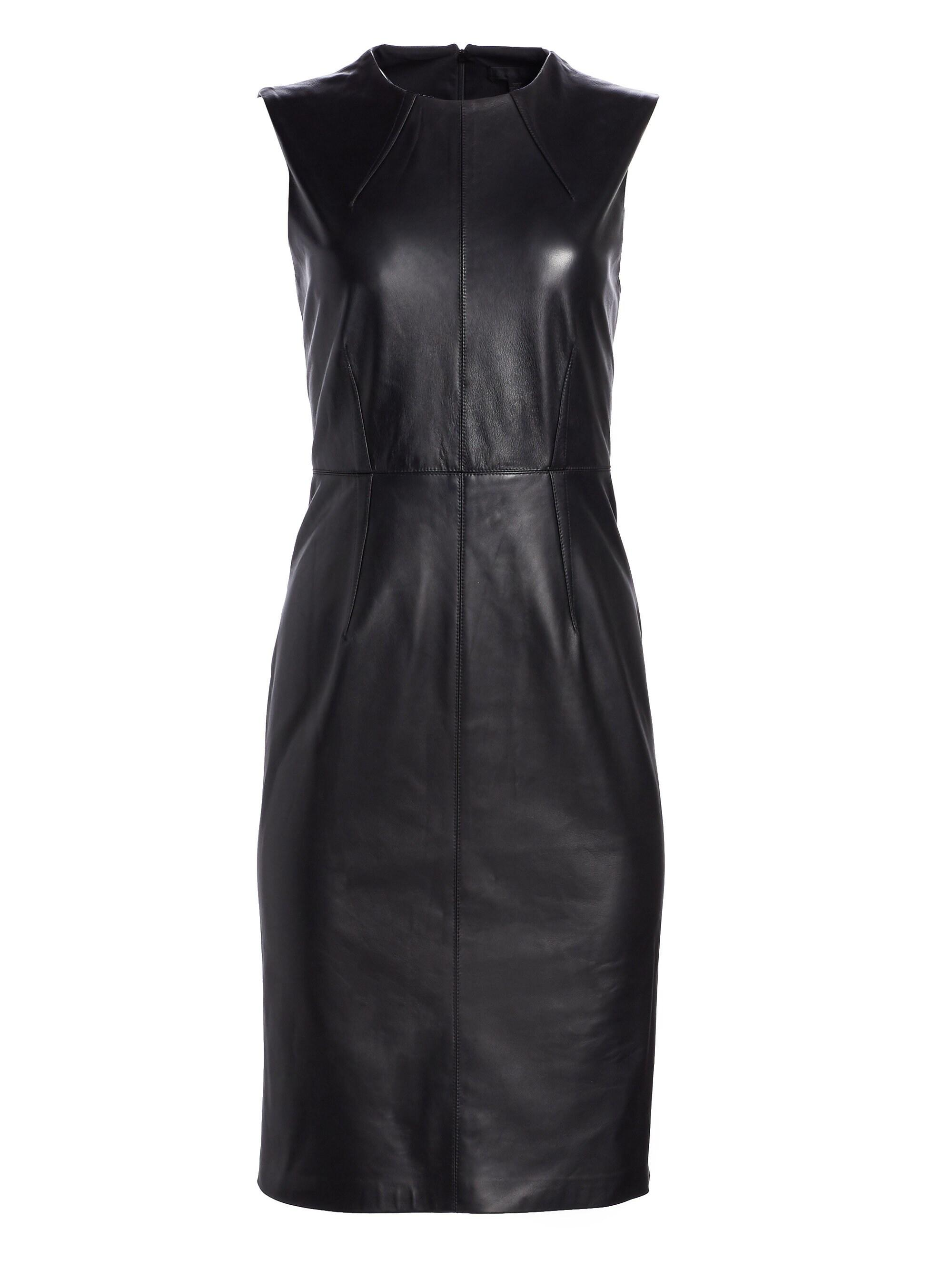 Saks Fifth Avenue Women S Collection Leather Sheath Dress