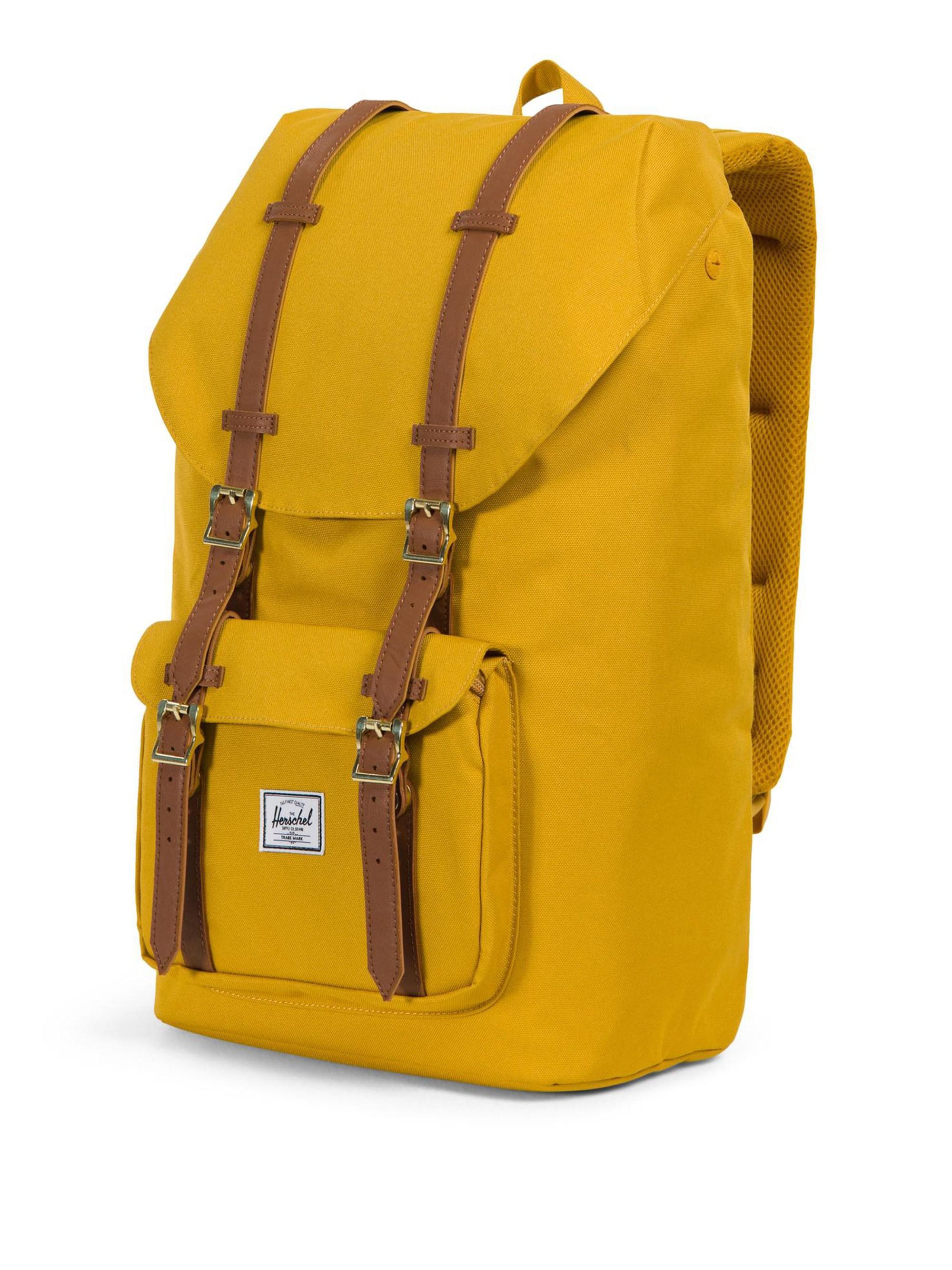 Herschel Supply Co. Little America Backpack in Yellow for Men - Lyst 0af0ee242b