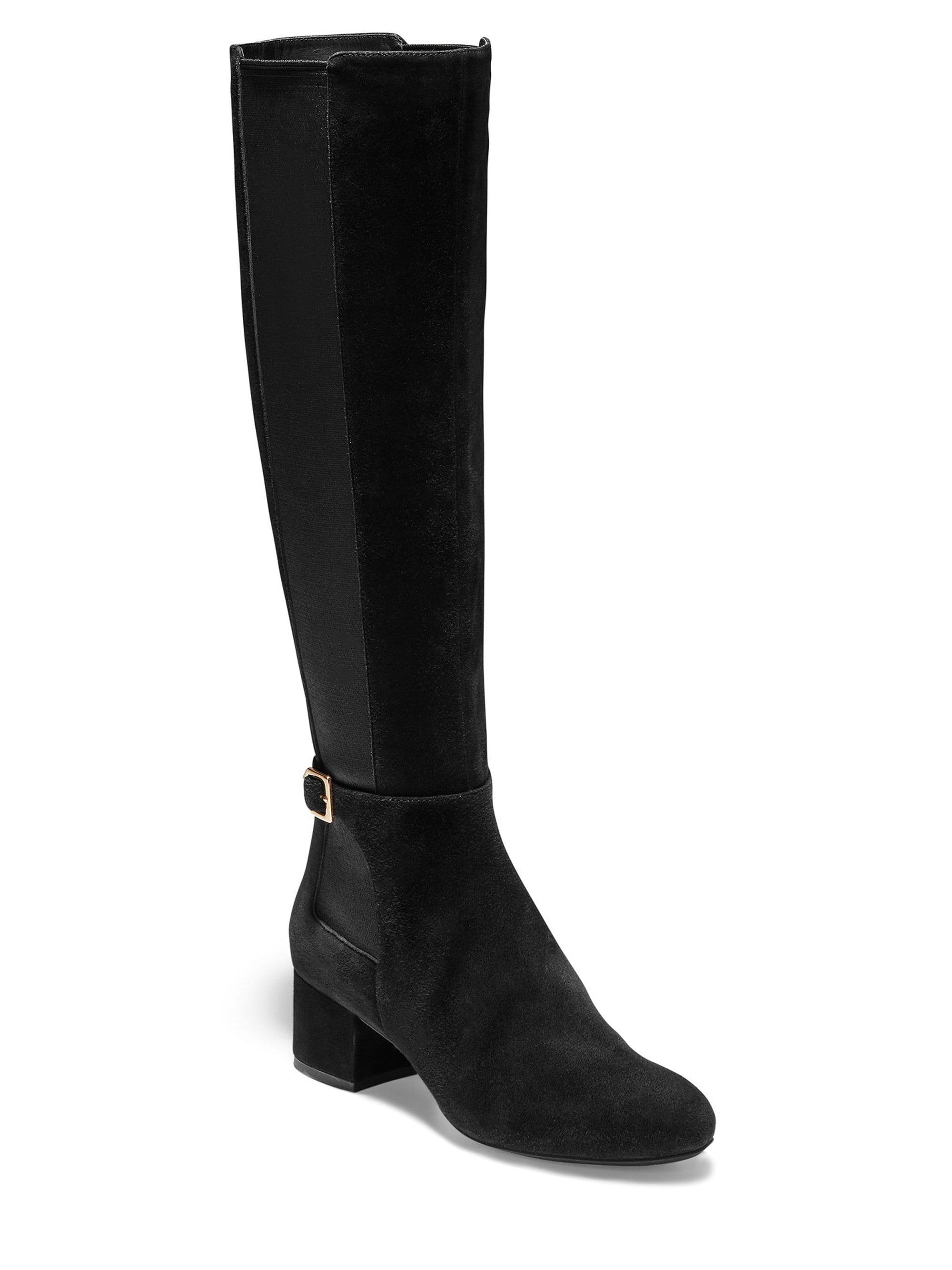 4f083463dc3 Cole Haan Avani Stretch Boots in Black - Lyst