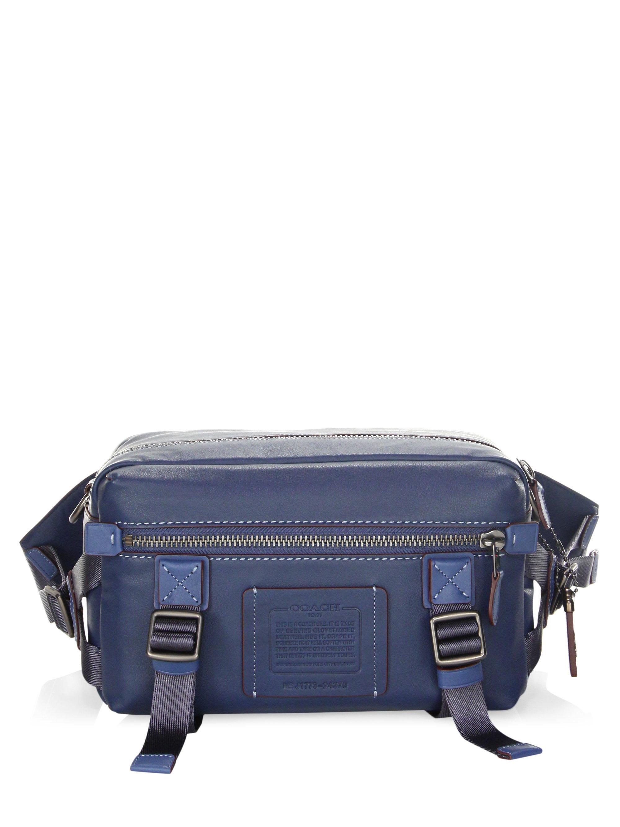 Leather Utility Waist Bag