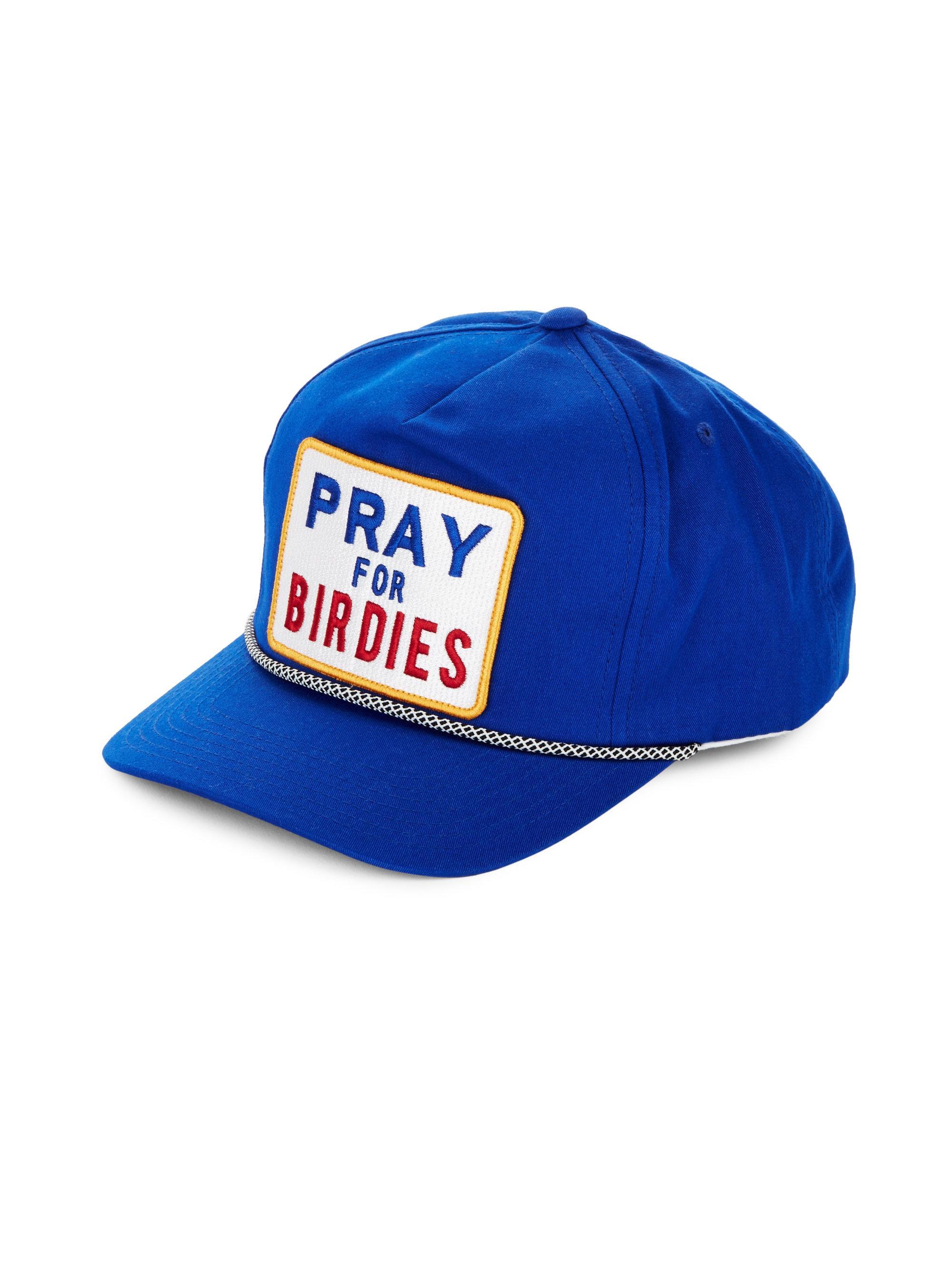 Lyst - G FORE Pray For Birdies Cotton Baseball Cap in Blue for Men 9056ba5d539