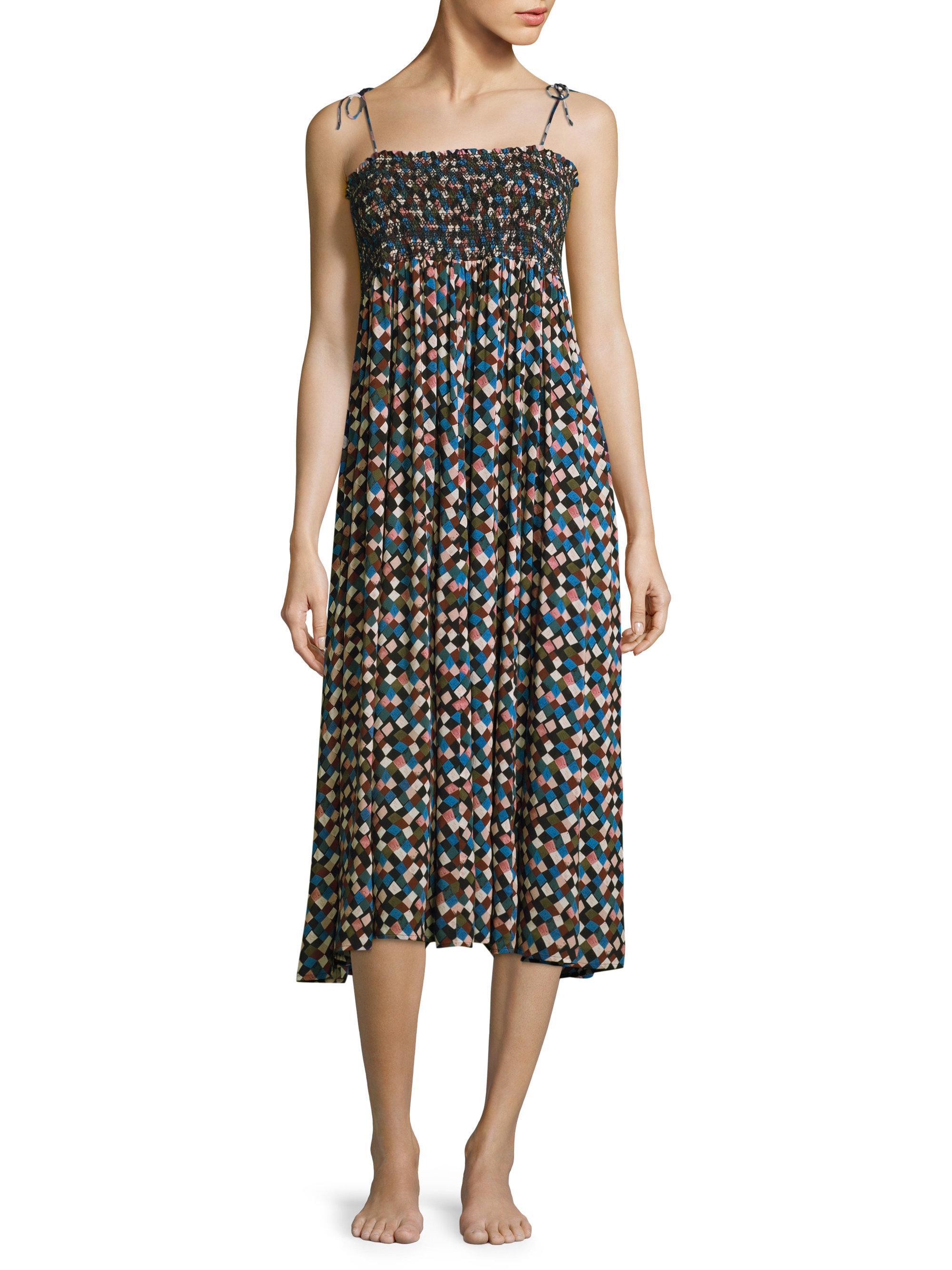 a1c846a12942f Tory Burch Clemence Convertible Dress - Lyst