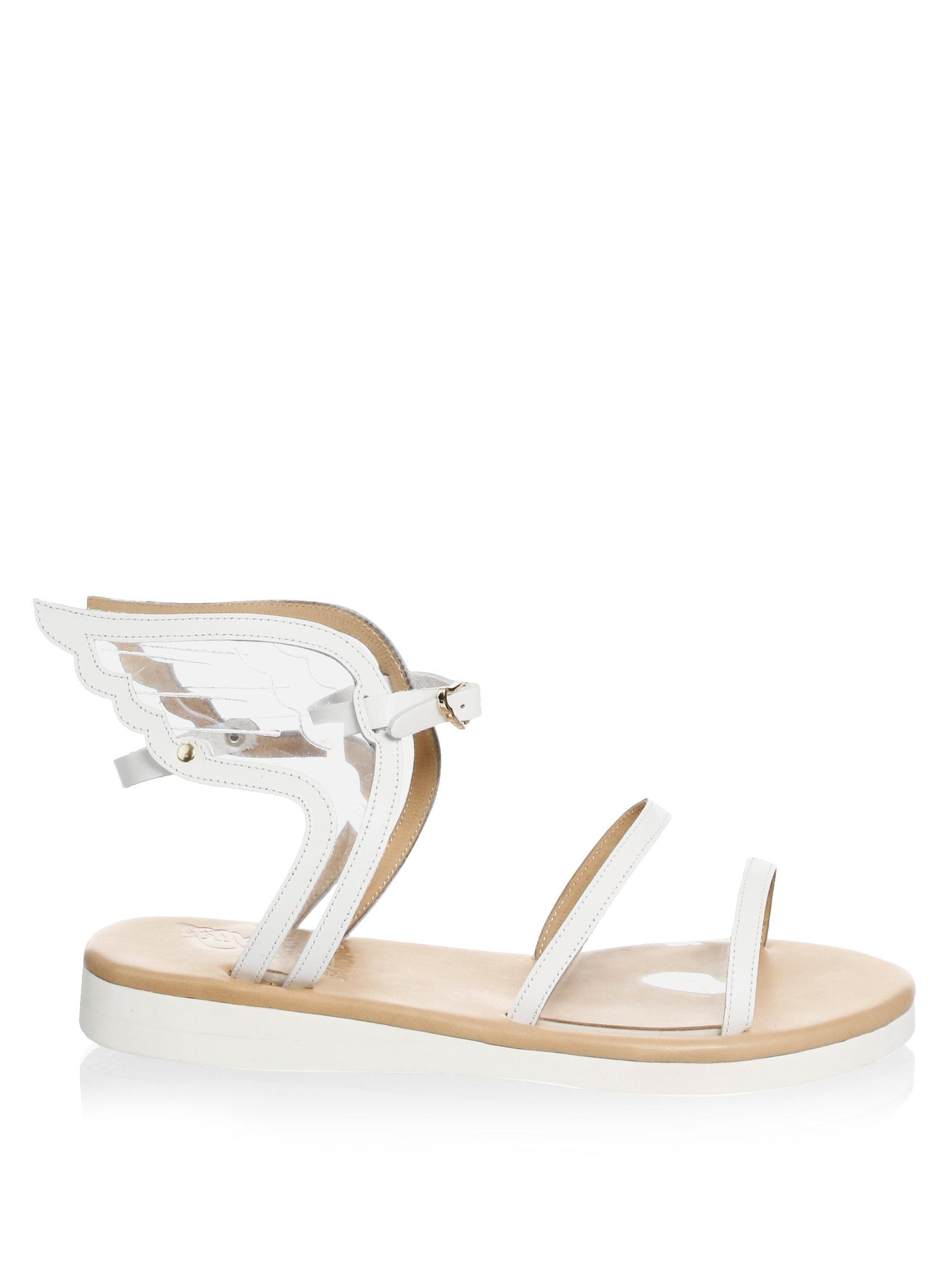Ancient Greek Sandals Fun Ikaria Leather Gladiator Sandals txhpSEn