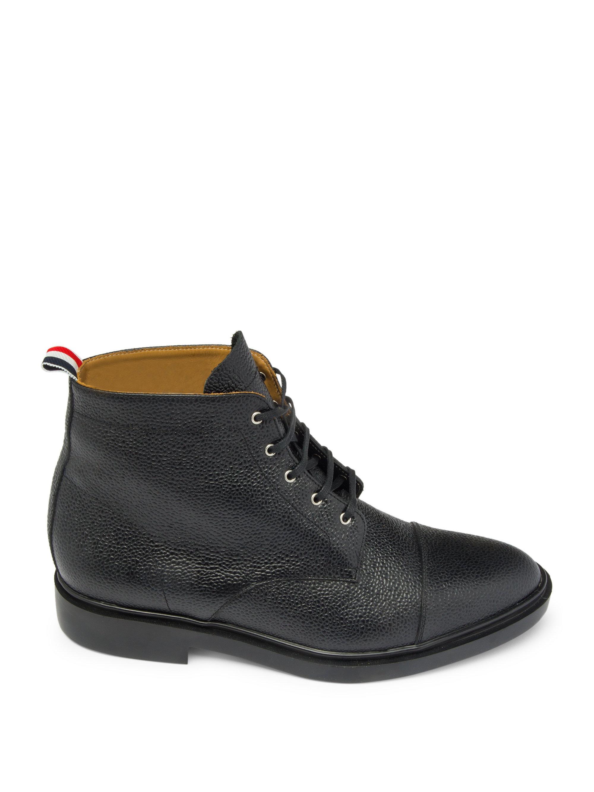 Thom Browne Derby Lace-up Captoe Boots QYOYUKA8Ea