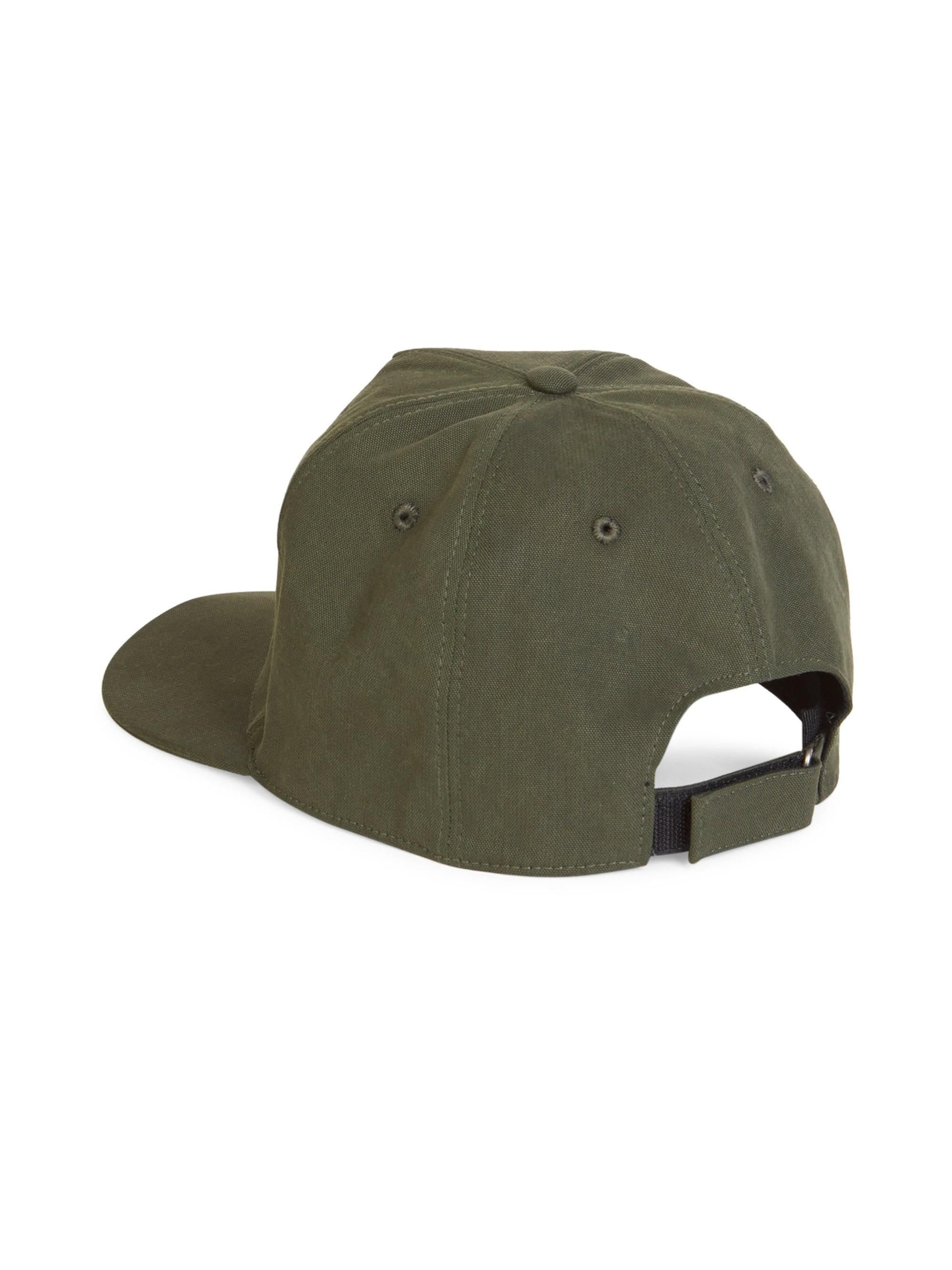 0c9d9d4a113 Givenchy - Green Embroidered Cotton Baseball Cap for Men - Lyst. View  fullscreen