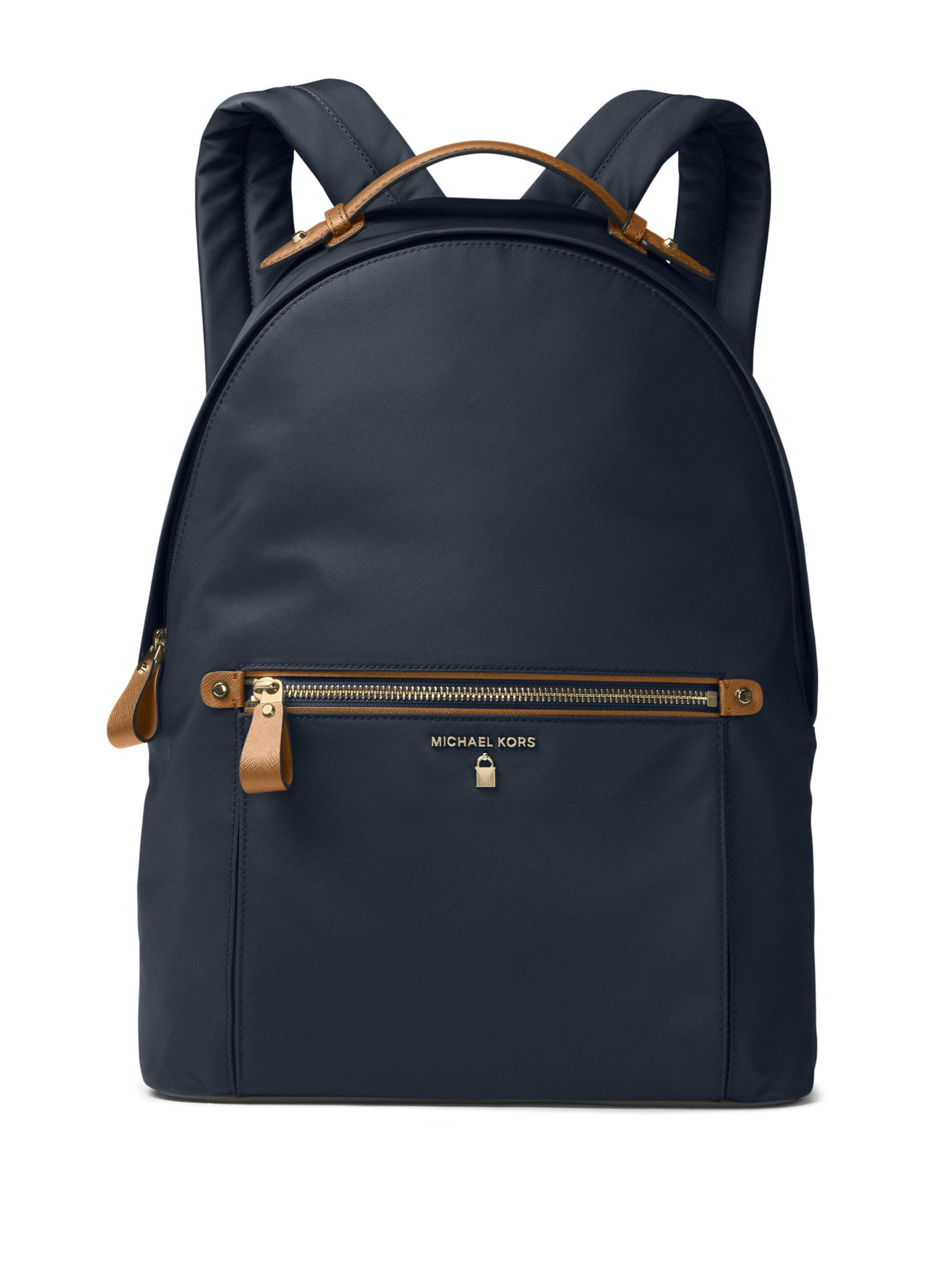 8f4127b926780 MICHAEL Michael Kors Large Kelsey Nylon Backpack in Blue - Save 5 ...