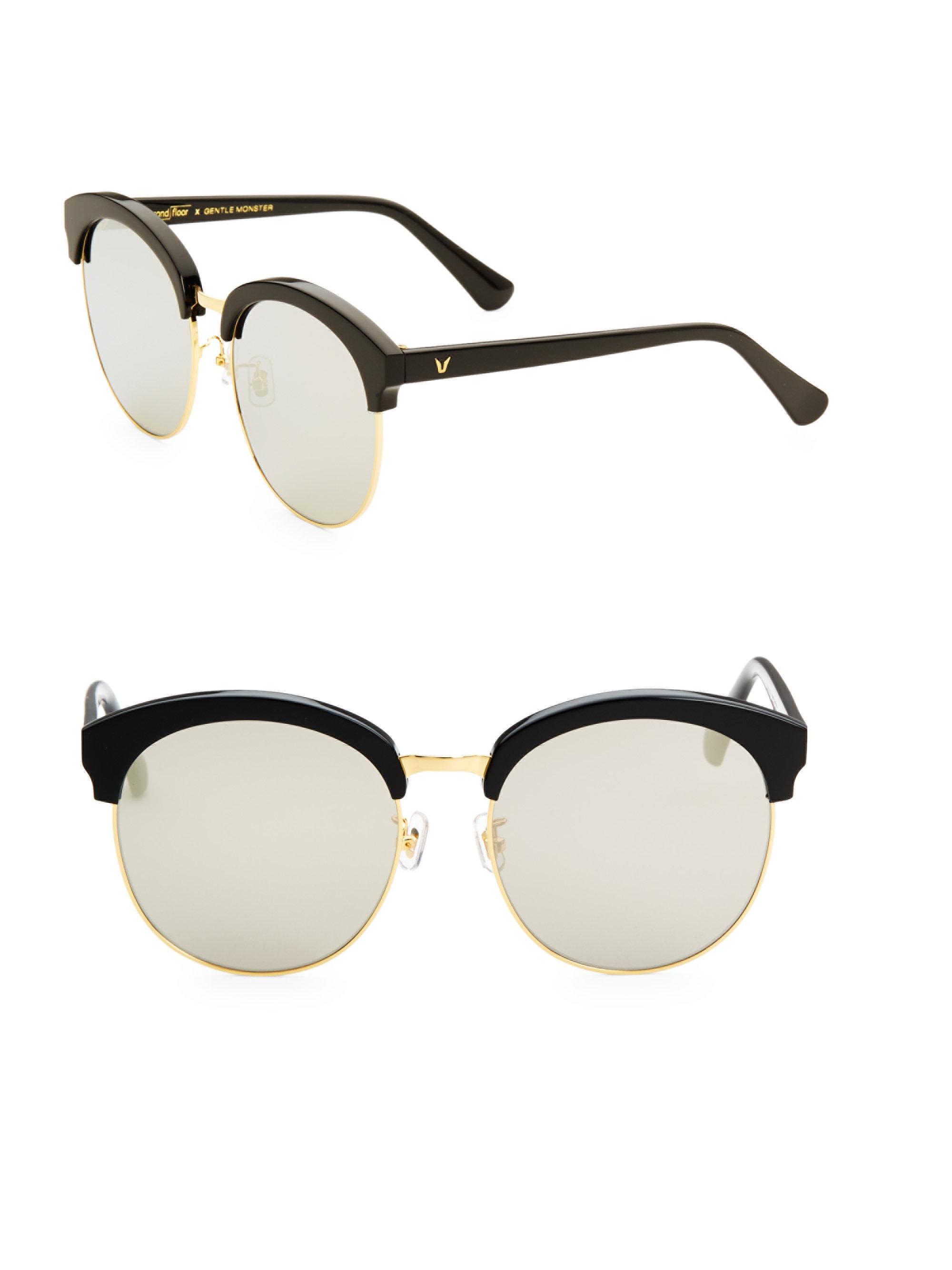 b9779ec52cf Lyst - Gentle Monster Women s 60mm Deborah Sunglasses - Light Grey ...