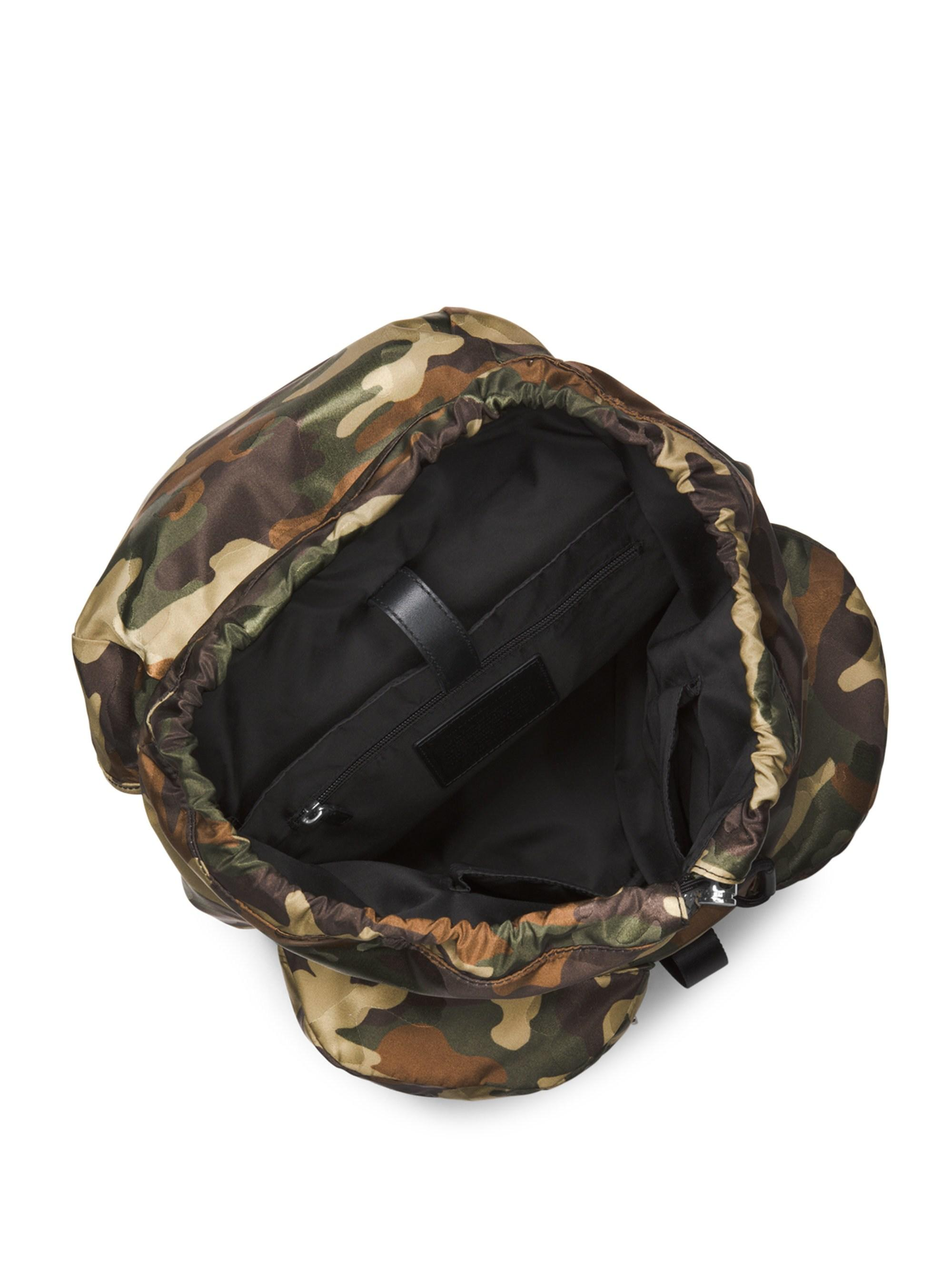 793b6c480199 Michael Kors - Green Kent Sport Zip Camo Backpack for Men - Lyst. View  fullscreen