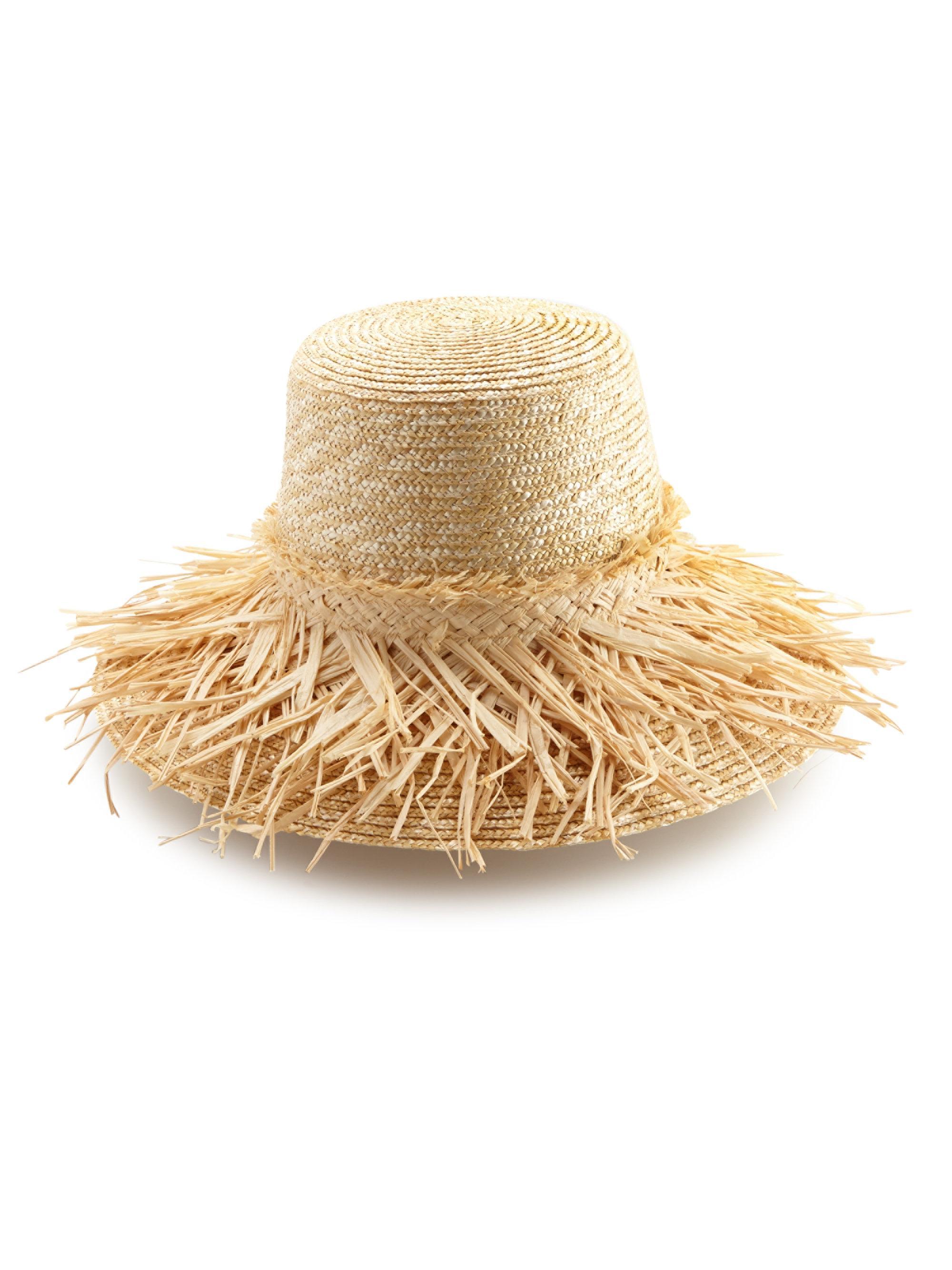 94153285f05 Lyst - Lola Hats Hula Skirt Raffia Sun Hat in Natural